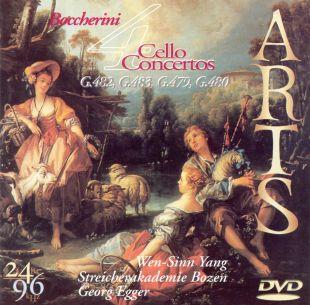 Boccherini: Four Cello Concertos