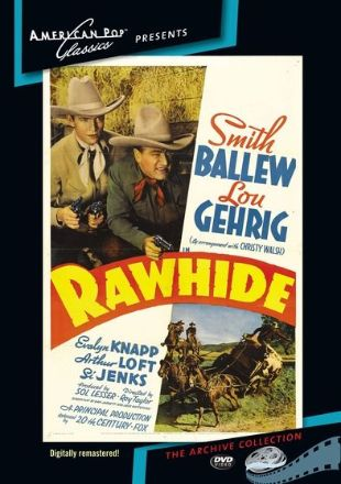 cast of rawhide the movie