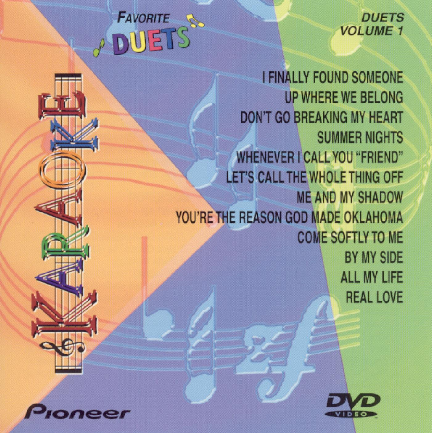 Karaoke: Favorite Duets, Vol. 1 (1999)