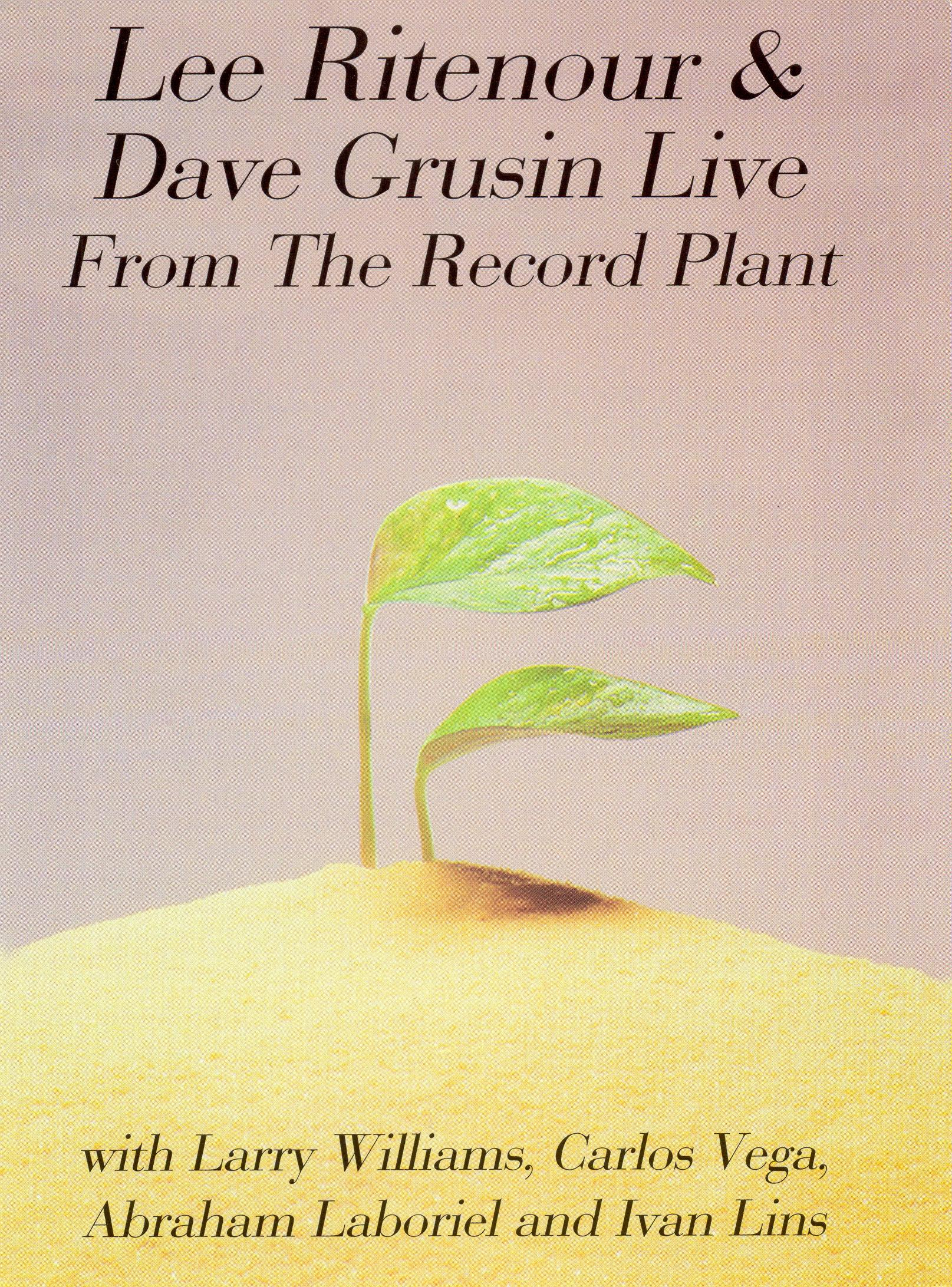 Lee Ritenour & Dave Grusin: Live from the Record Plant