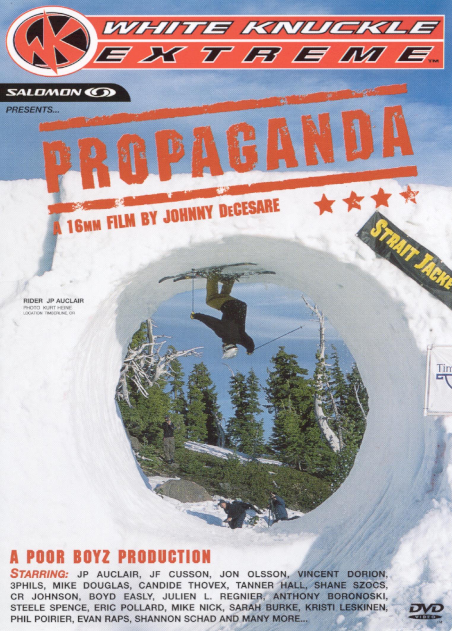 White Knuckle Extreme: Propaganda