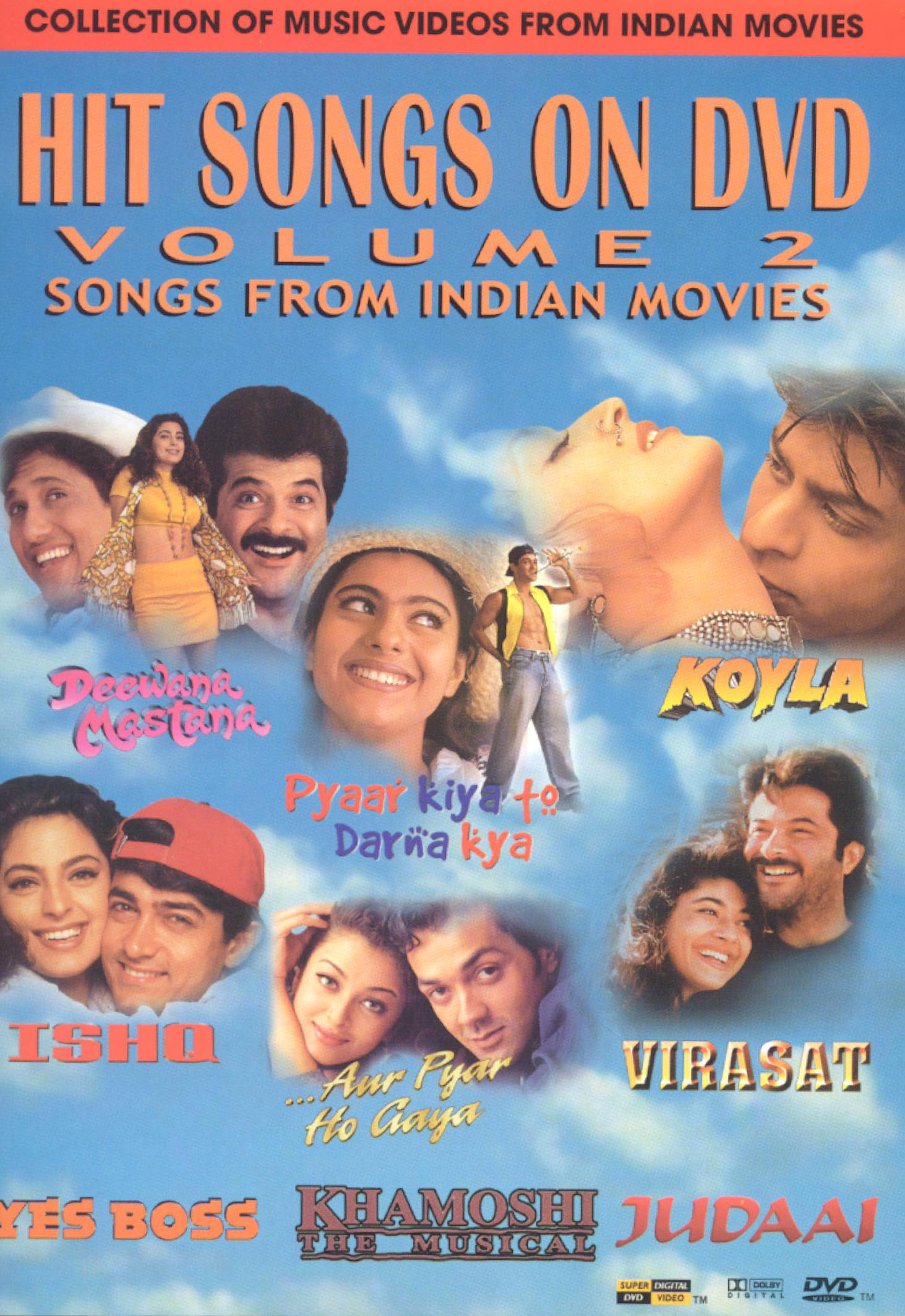 Hit Songs on DVD, Vol. 2: Songs from Indian Movies