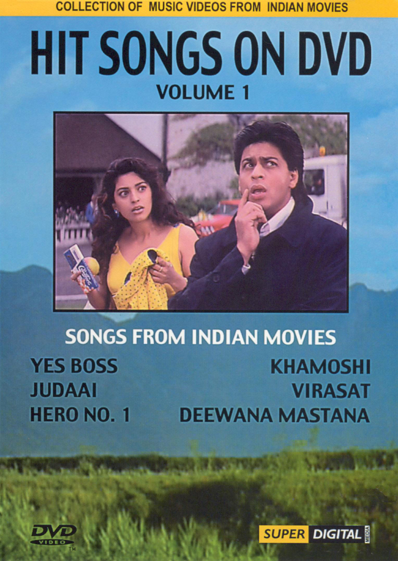 Hit Songs on DVD, Vol. 1: Songs from Indian Movies