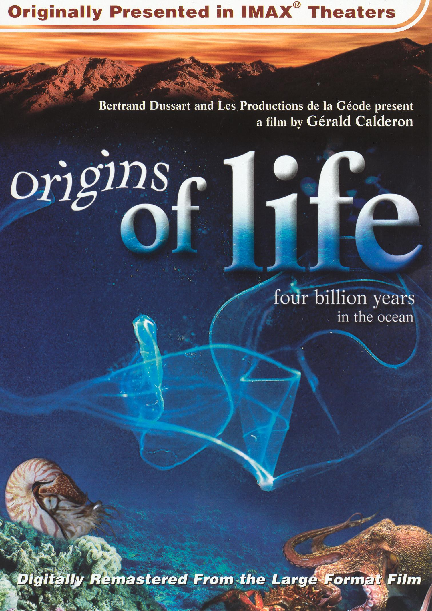Origins of Life: Four Billion Years in the Ocean