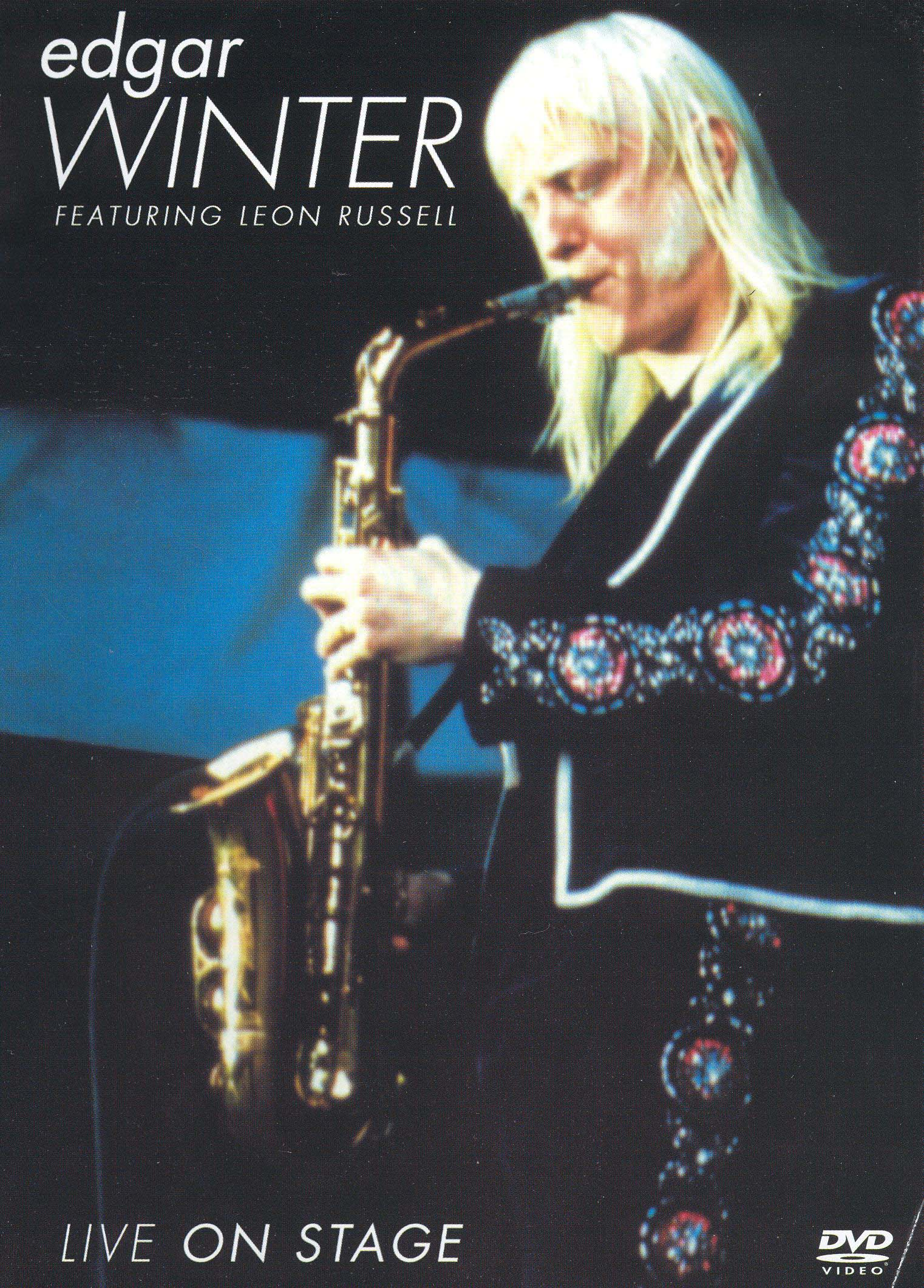 Edgar Winter: Live on Stage - Featuring Leon Russell