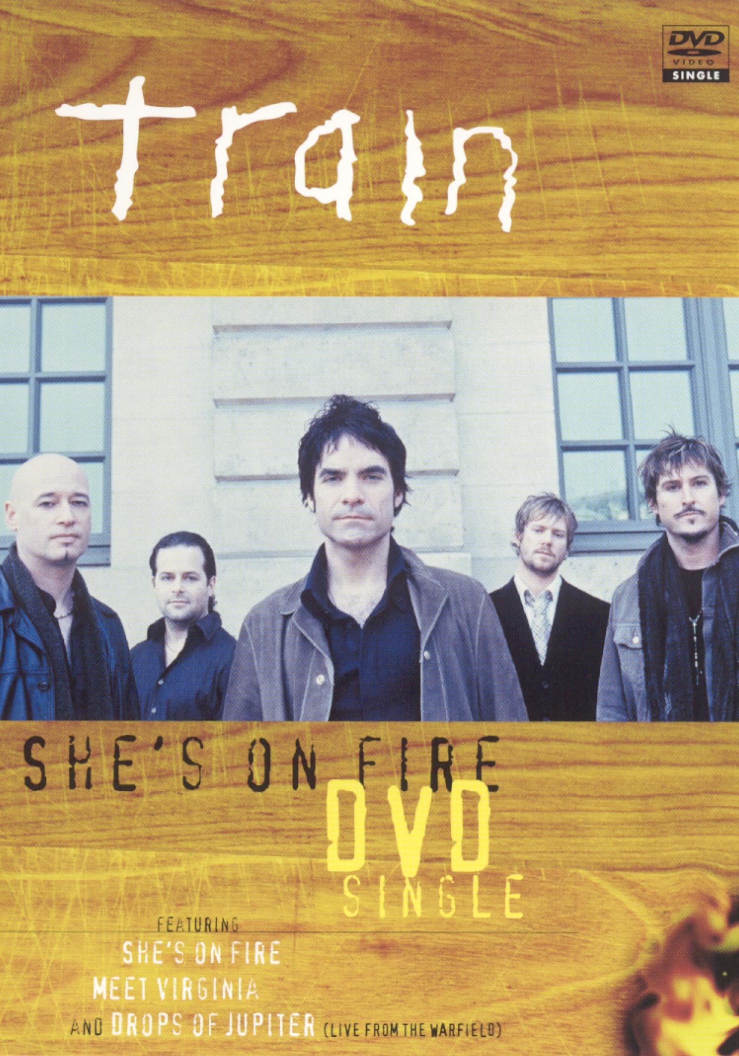 Train: She's On Fire  [DVD Single]