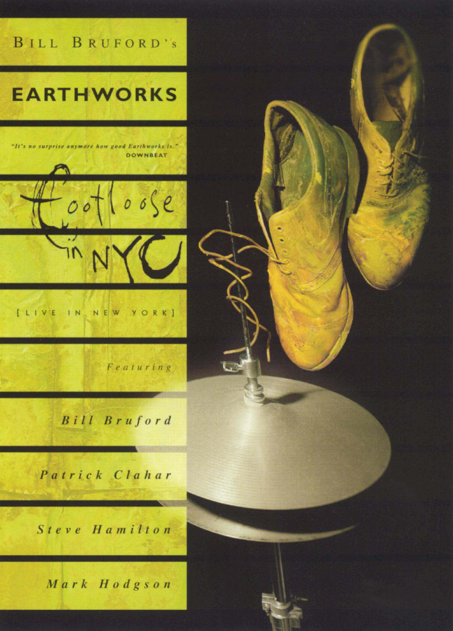 Bill Bruford: Footloose in New York City