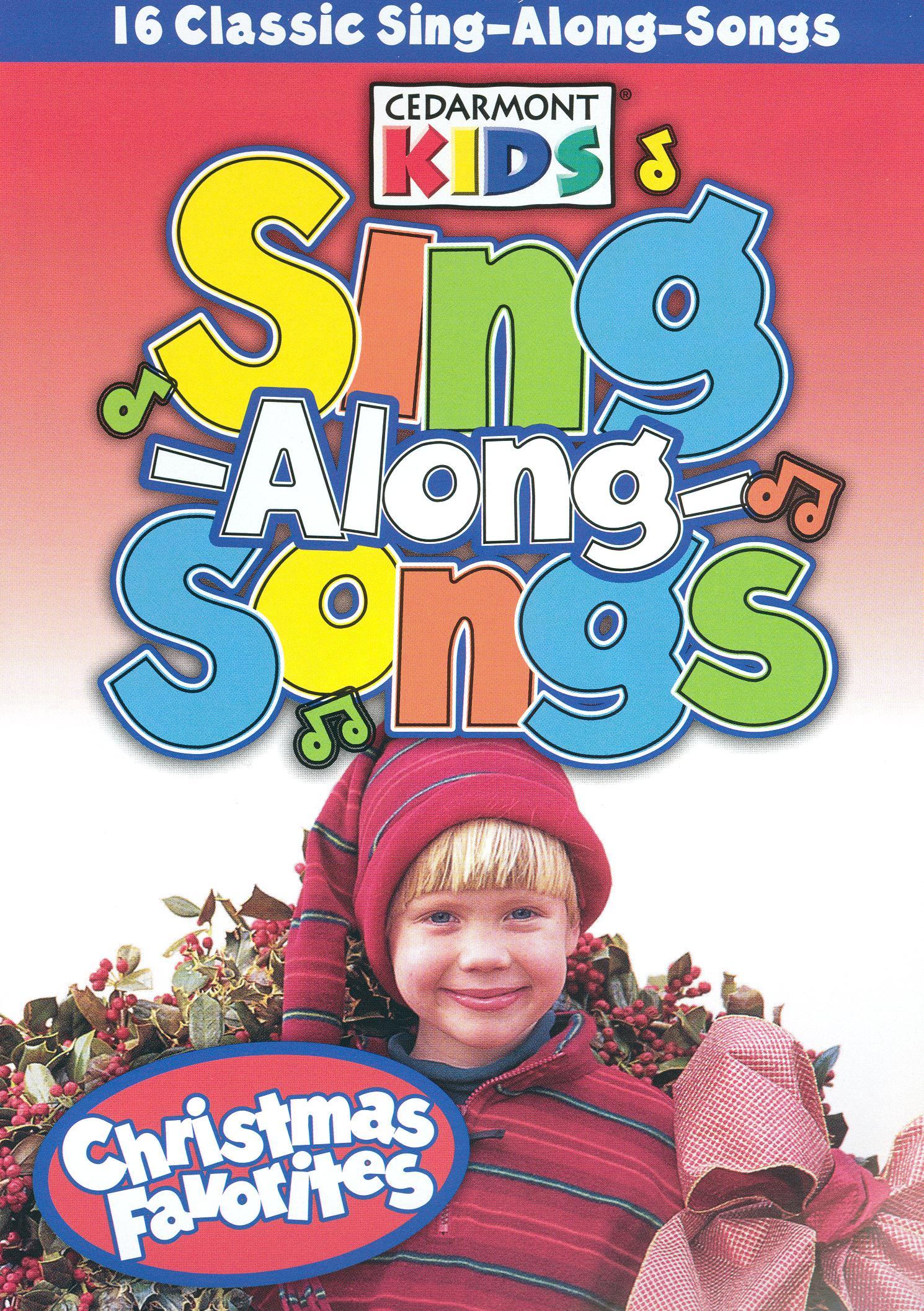 cedarmont kids sing along songs christmas favorites - Classic Christmas Favorites