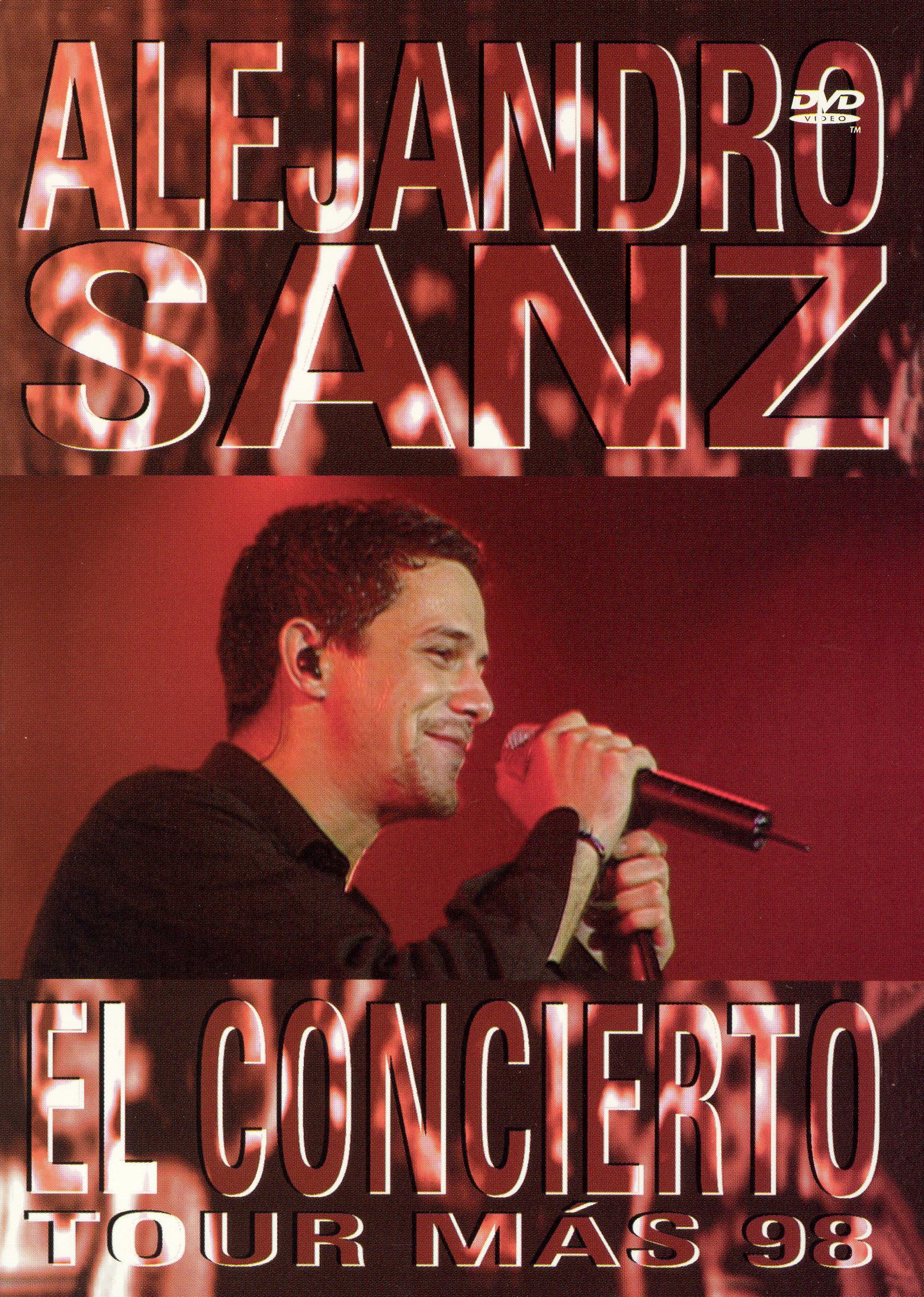Alejandro Sanz: El Concierto Tour Más 98