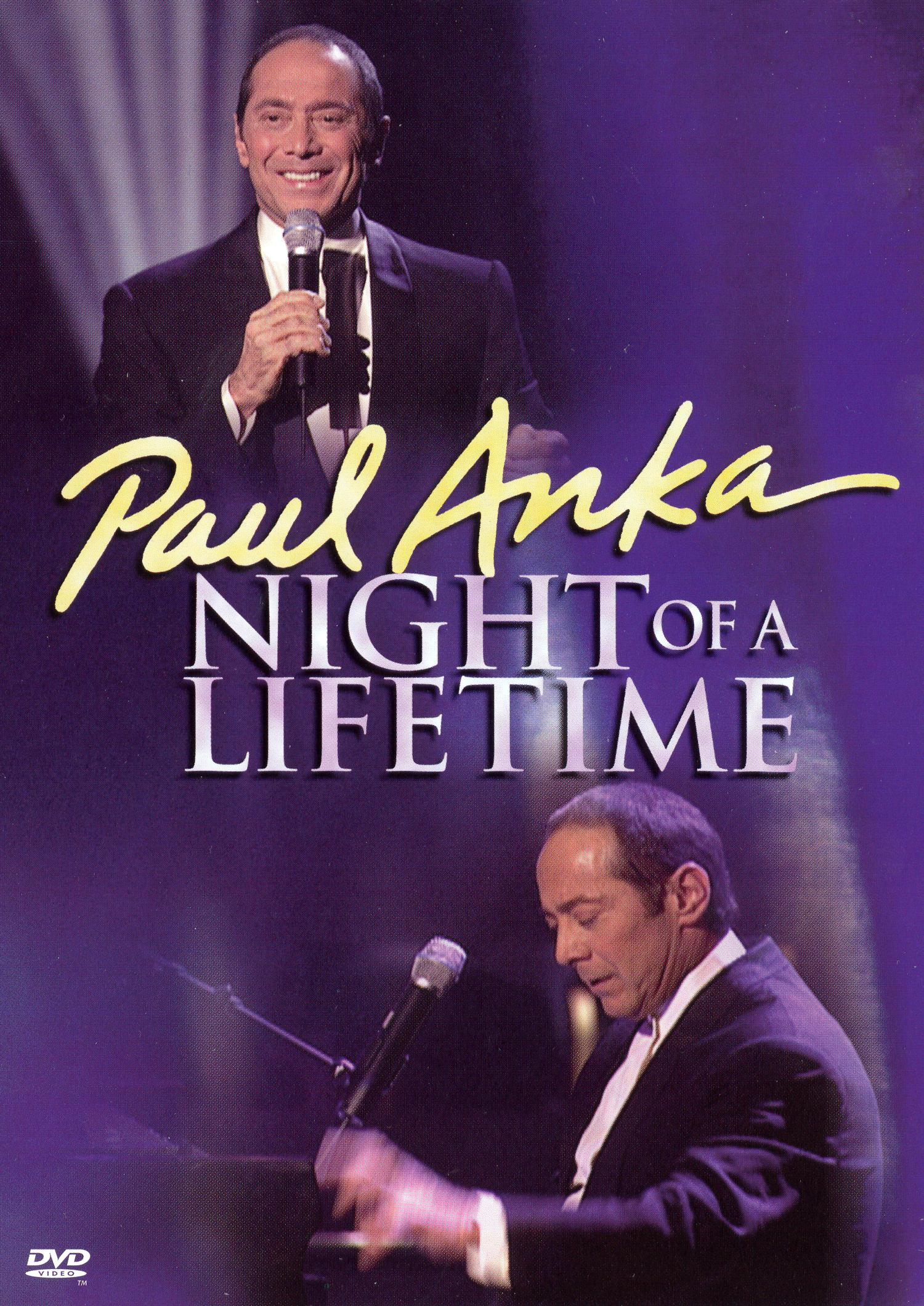 Paul Anka: Night of a Lifetime