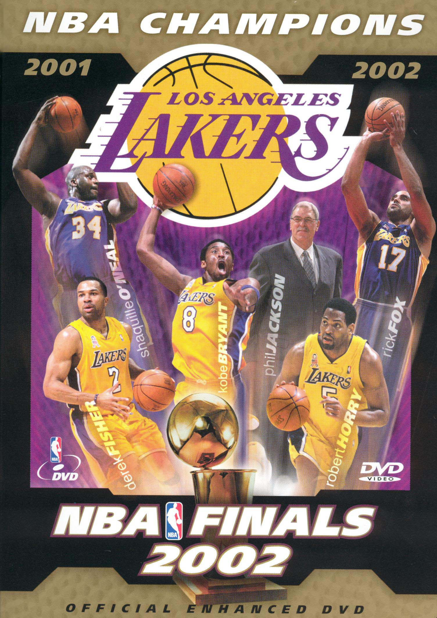 The Official 2002 NBA Championship: Los Angeles Lakers