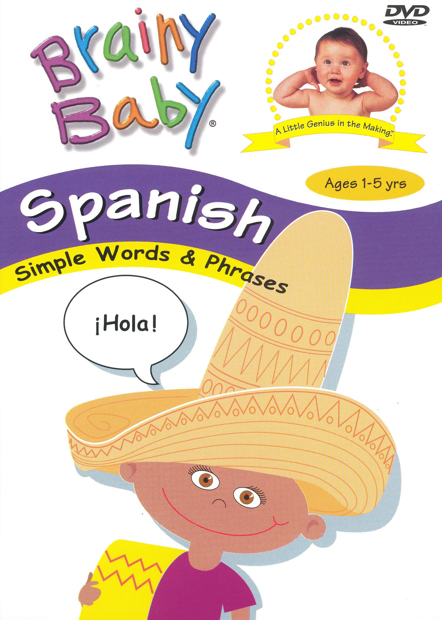 Brainy Baby: Spanish - Simple Words & Phrases