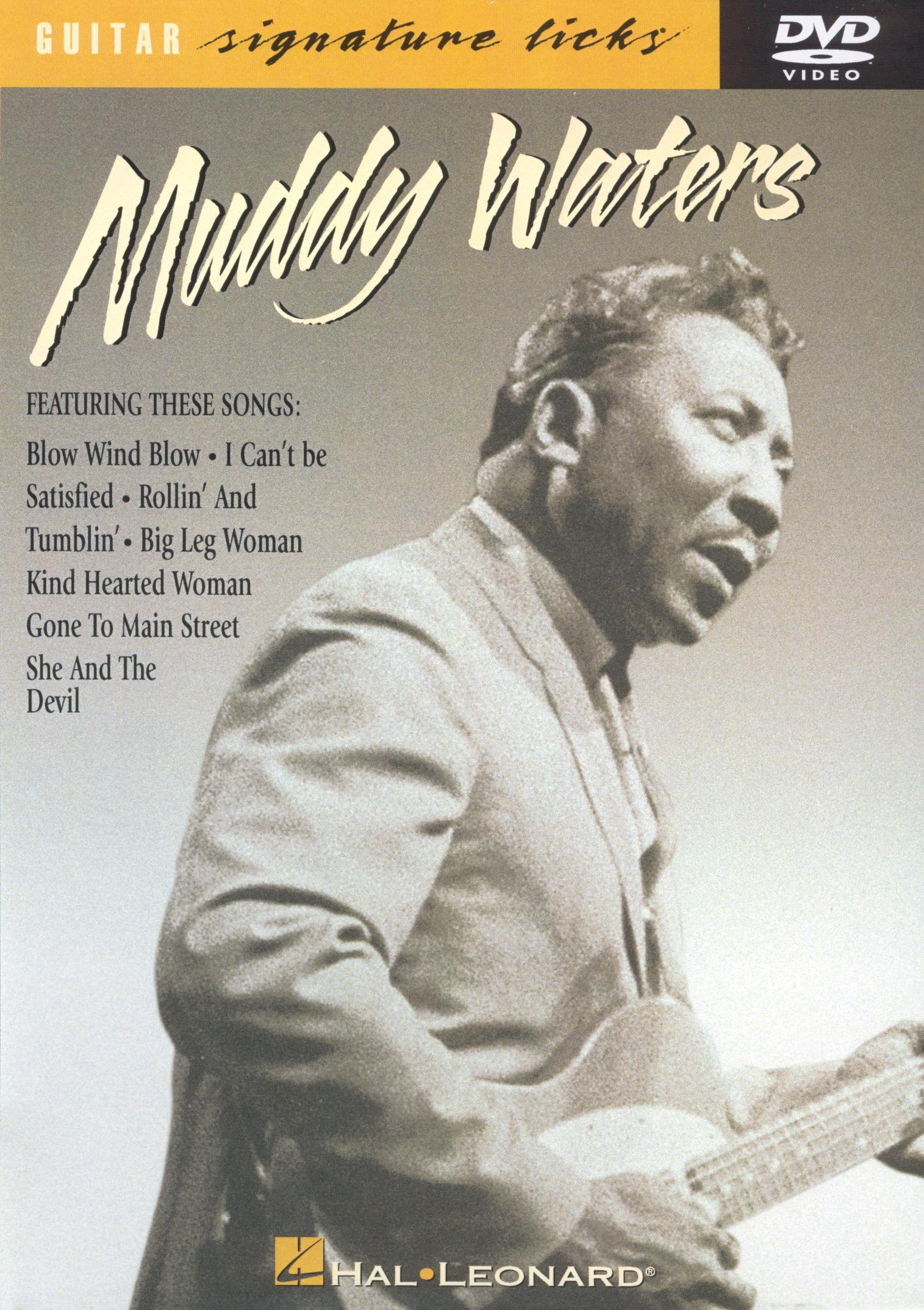 Guitar Signature Licks: Muddy Waters