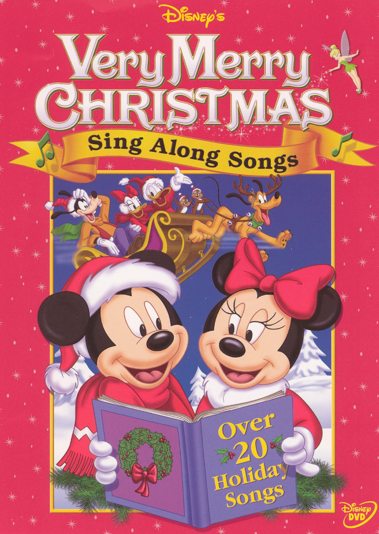 Disney's Sing Along Songs: Very Merry Christmas Songs (1988) - | Releases | AllMovie