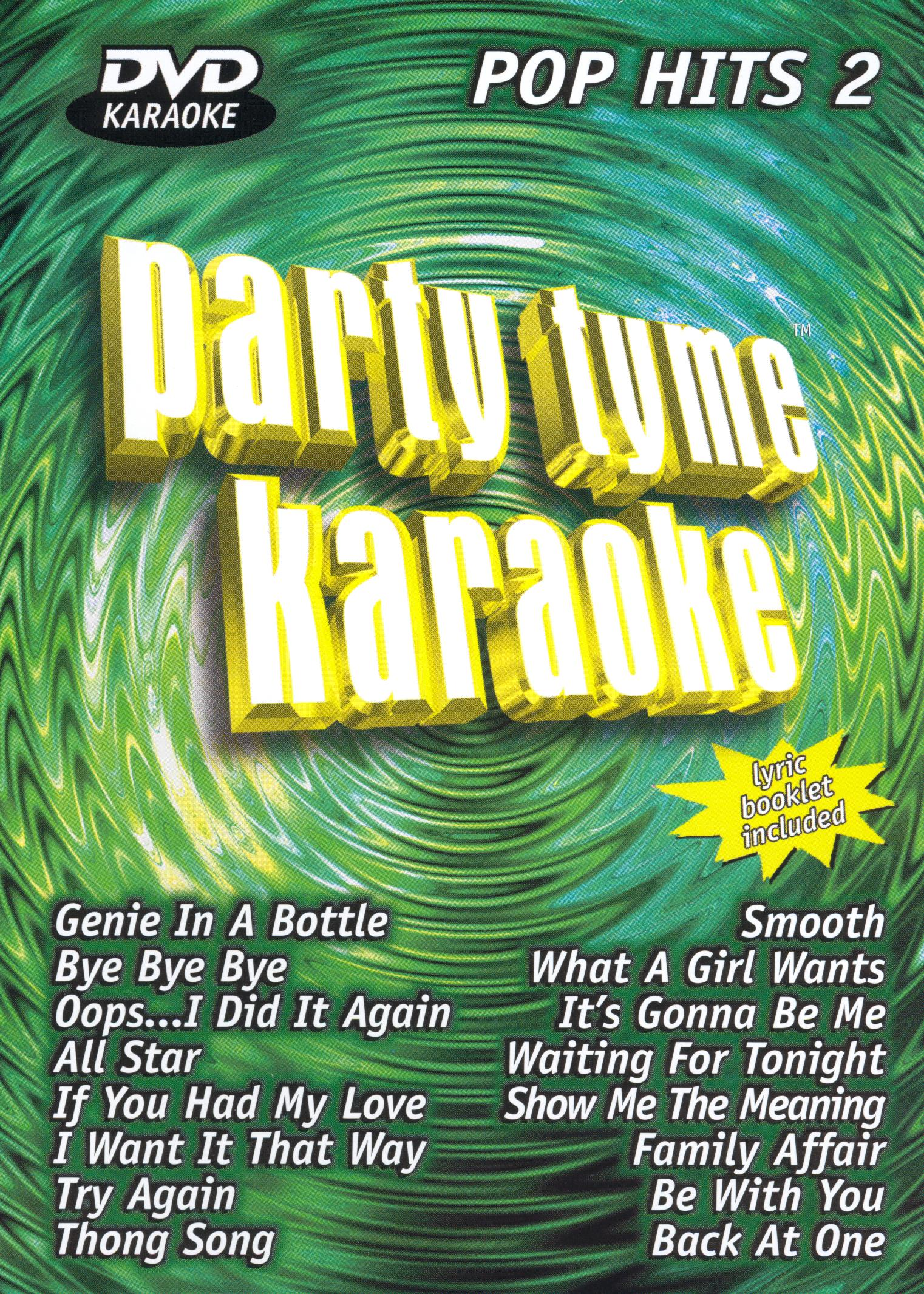 Party Tyme Karaoke: Pop Hits, Vol. 2