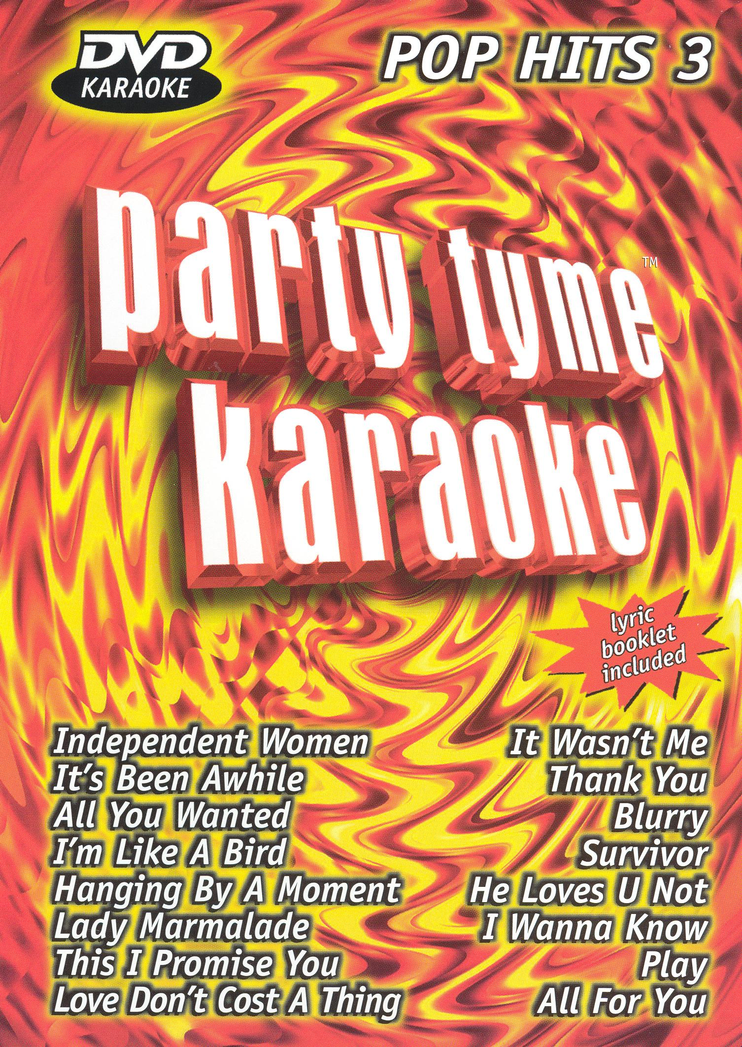 Party Tyme Karaoke: Pop Hits, Vol. 3