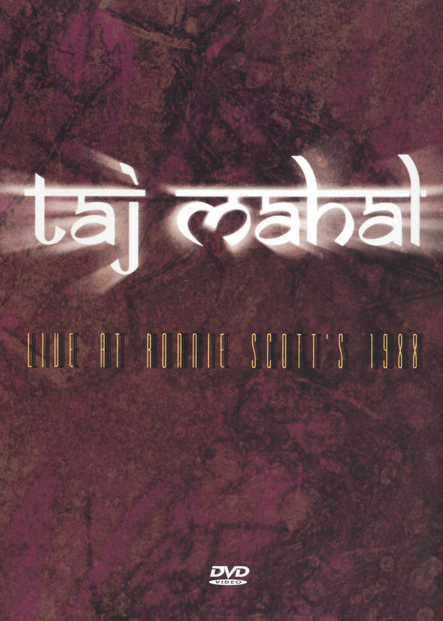 Taj Mahal: Live at Ronnie Scott's