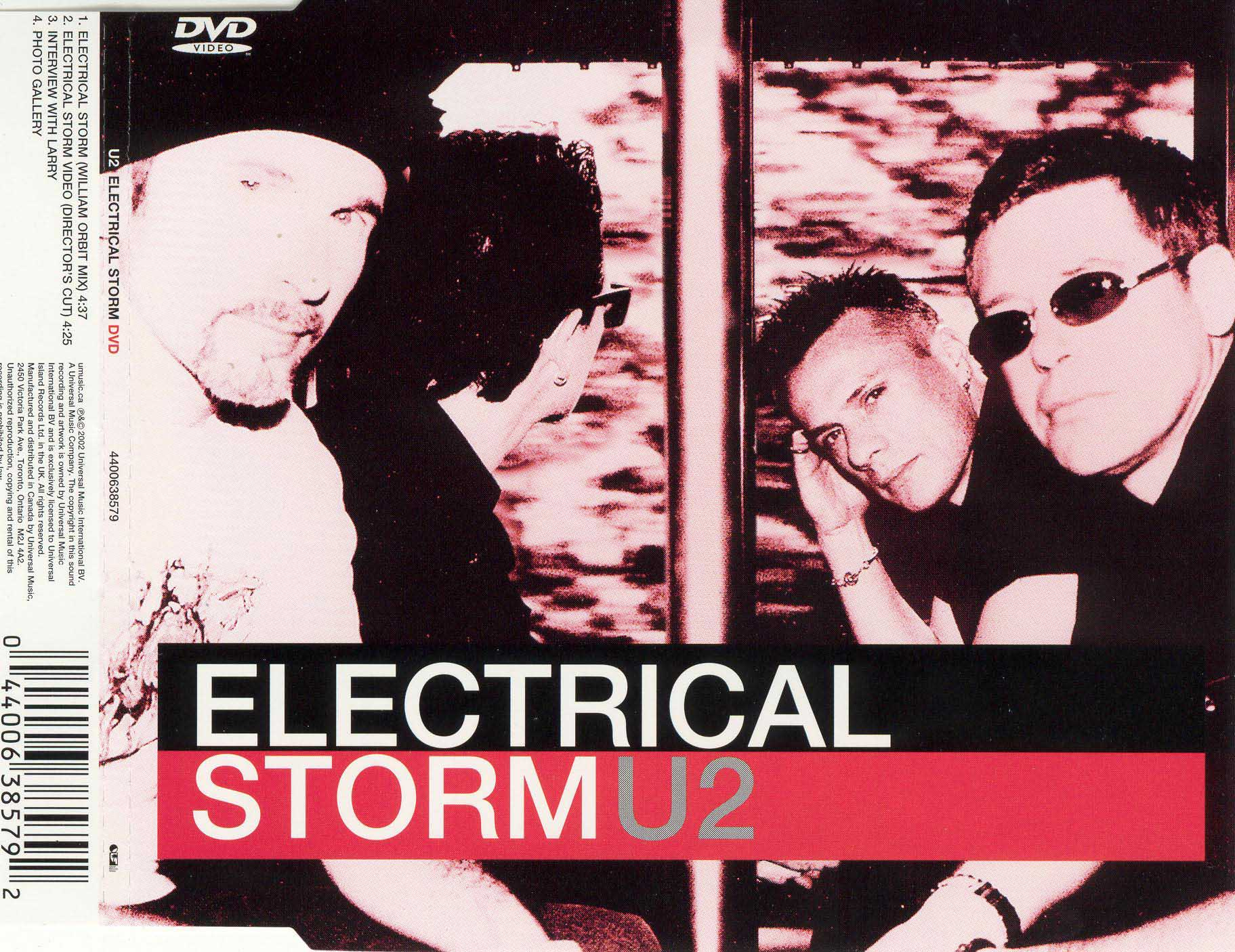 U2: Electrical Storm