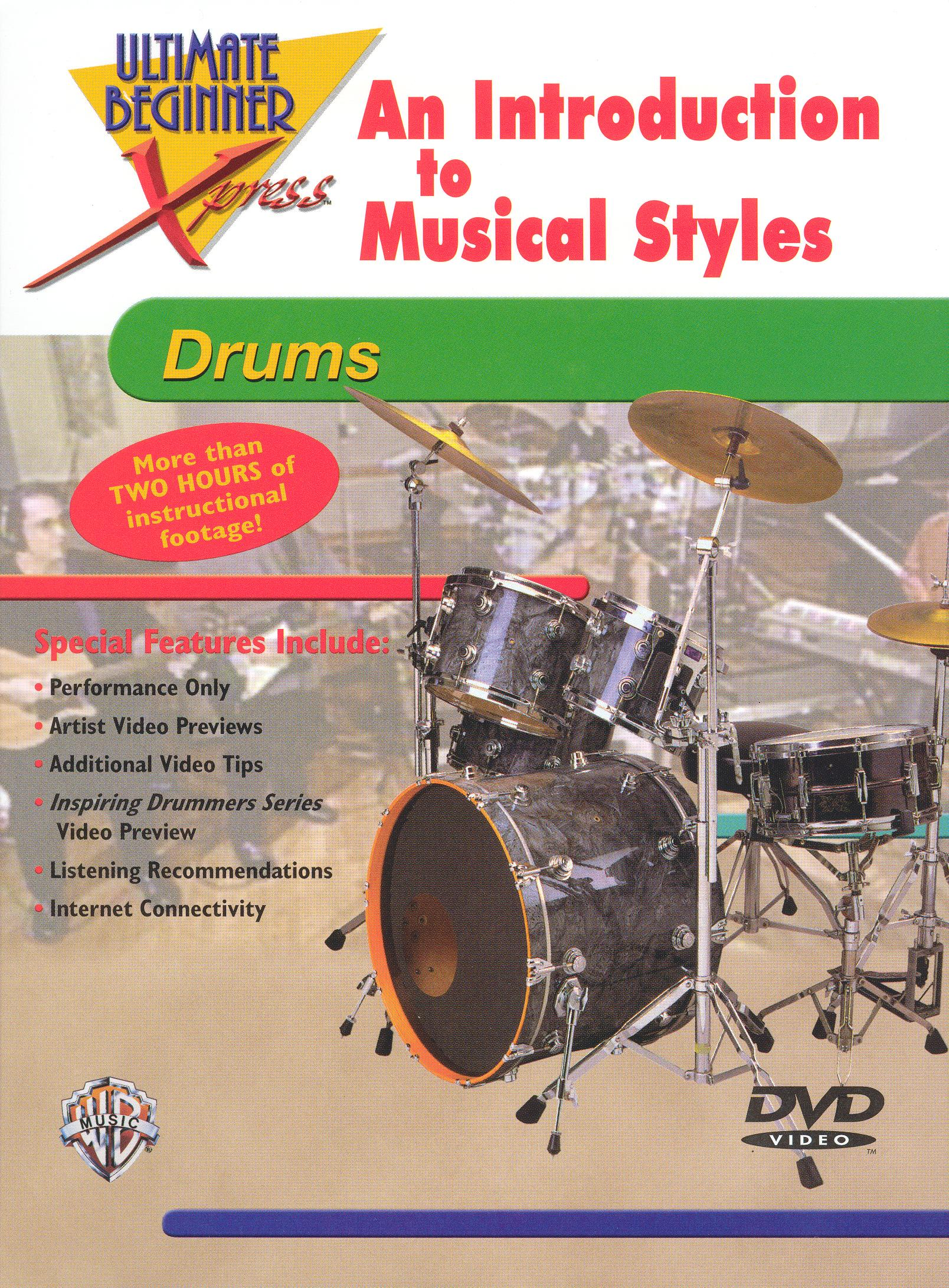 Ultimate Beginner Xpress: An Introduction to Musical Styles - For Drums