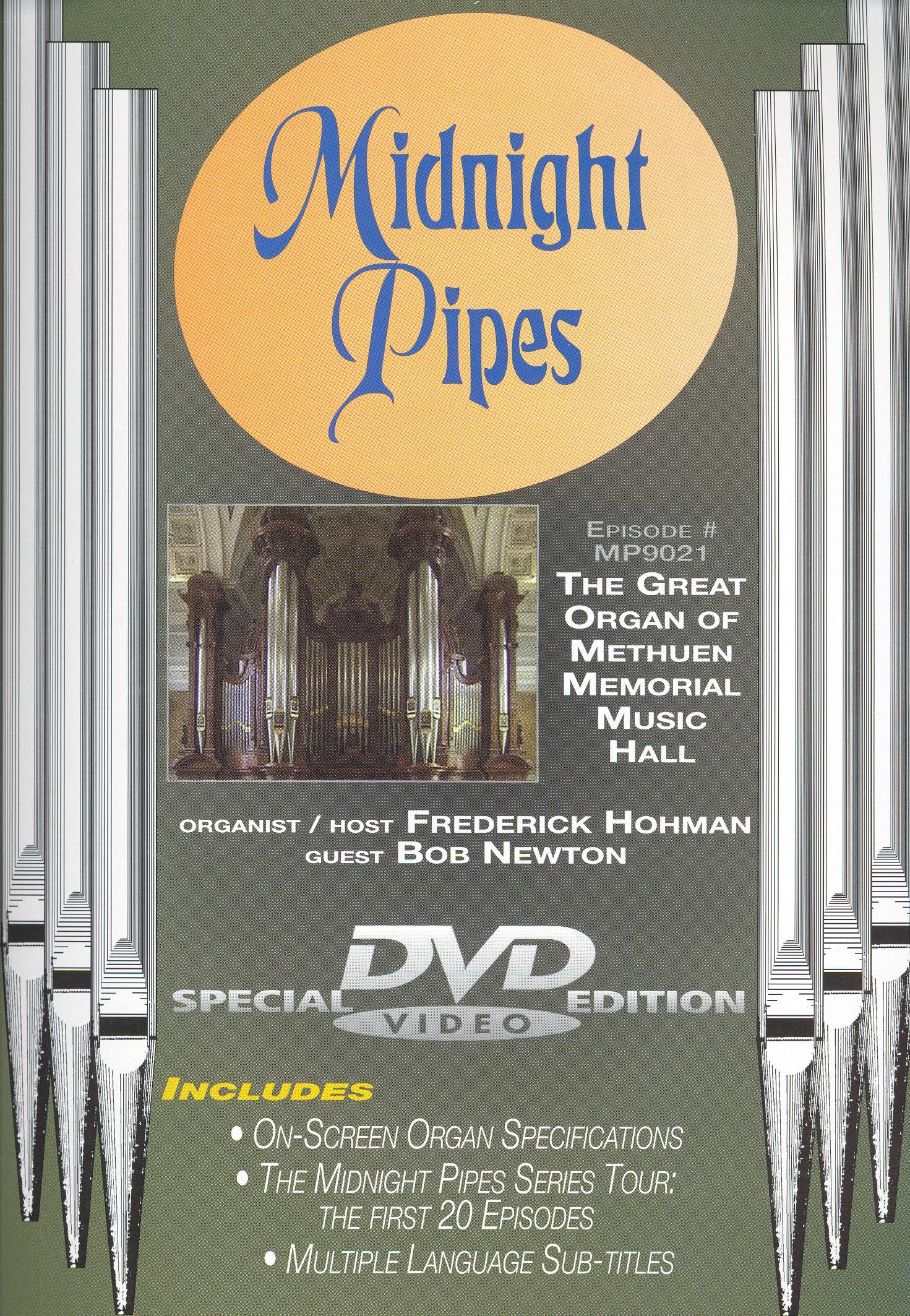 Midnight Pipes: Great Organ of Methuen