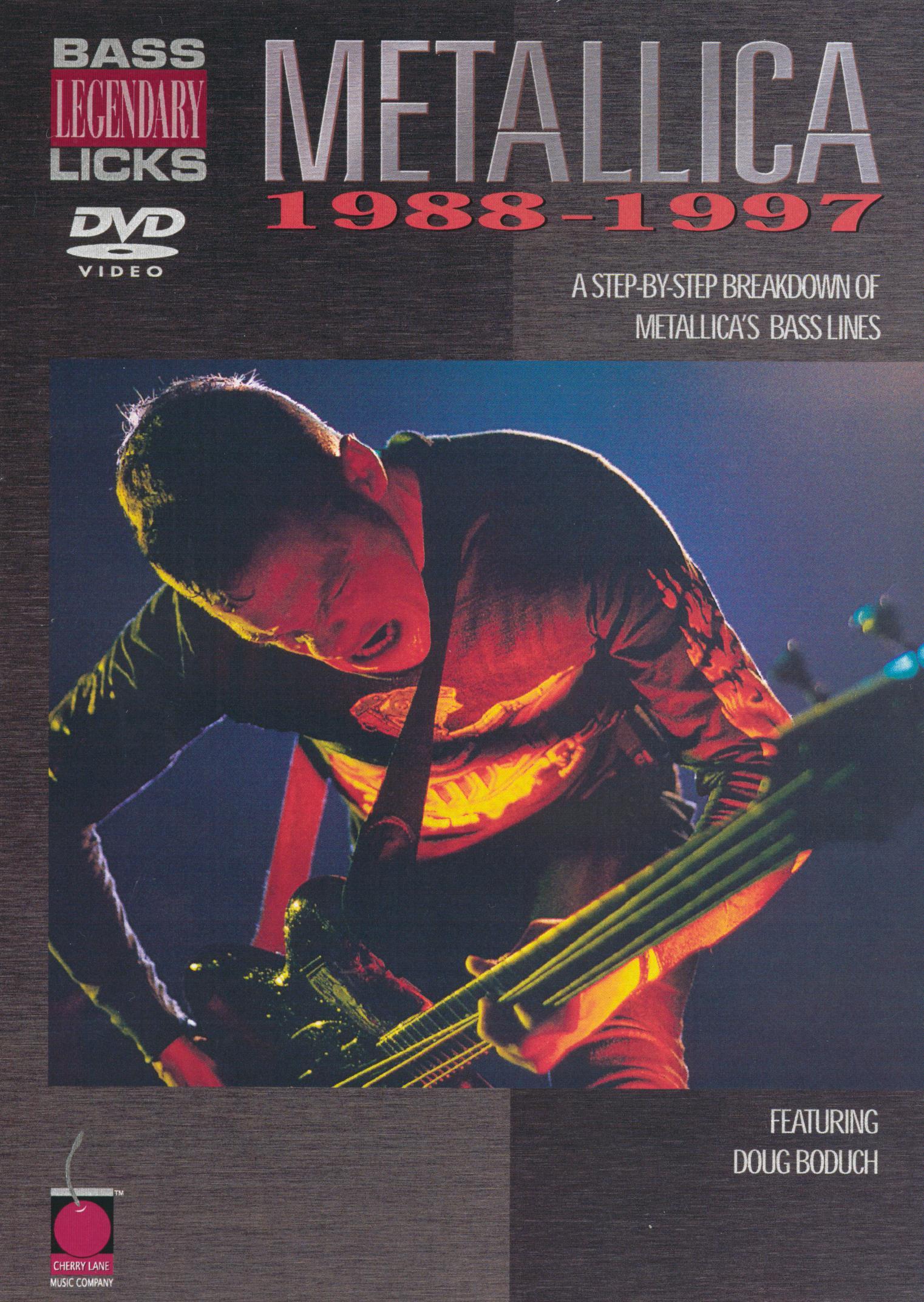 Metallica: Legendary Licks - Bass, 1988-1997