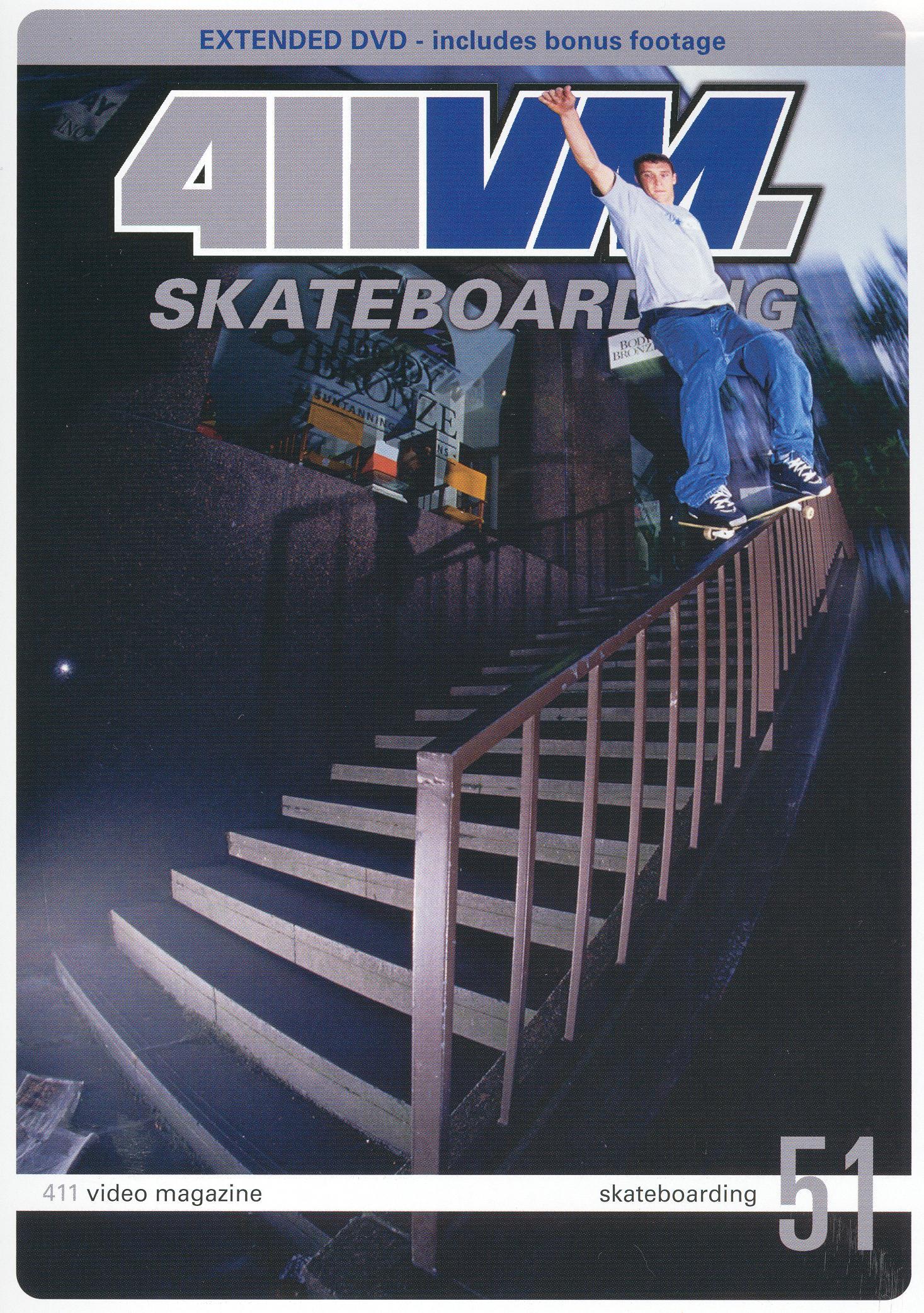 411 Video Magazine: Skateboarding, Vol. 51