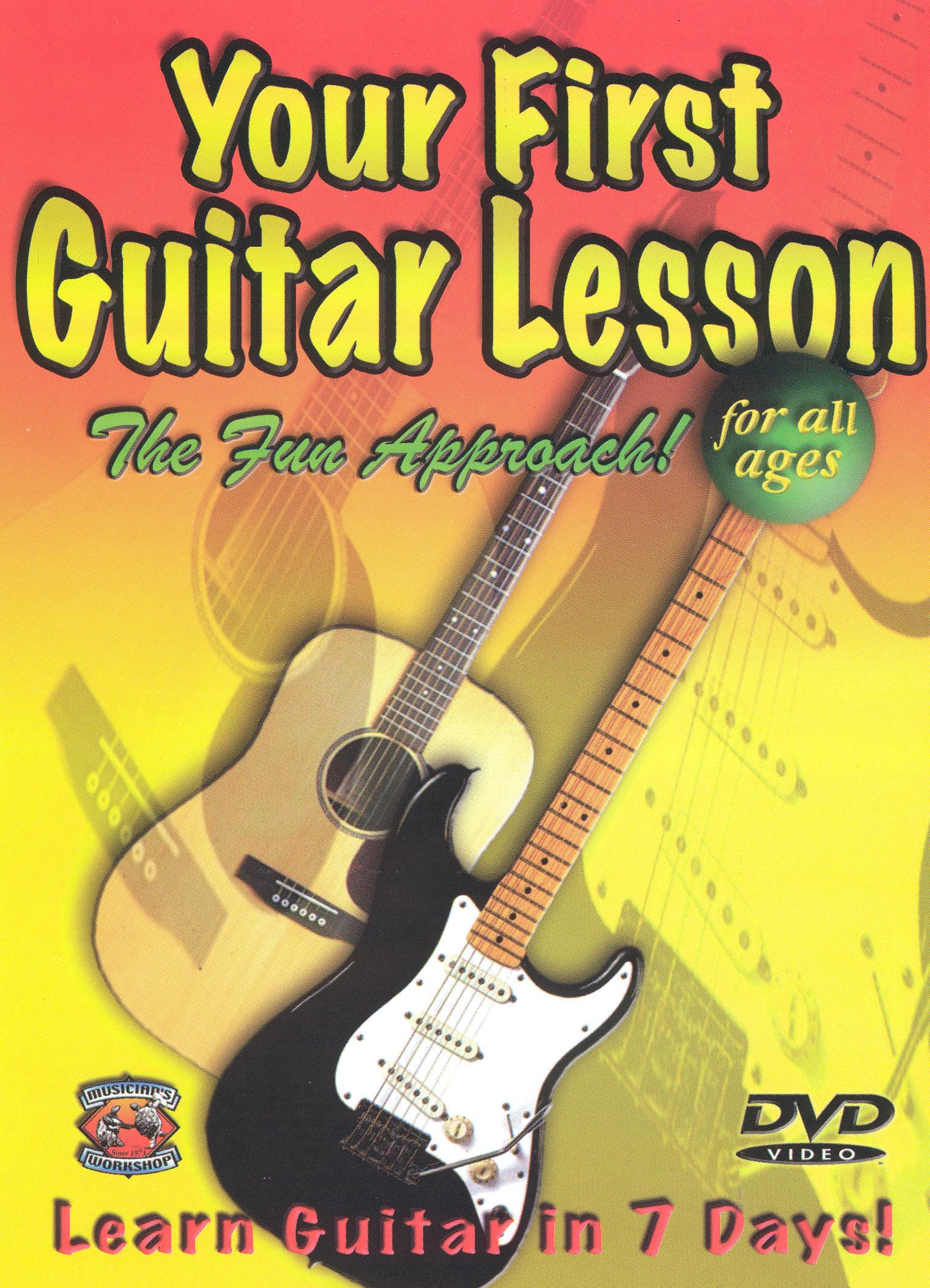 Your First Guitar Lesson