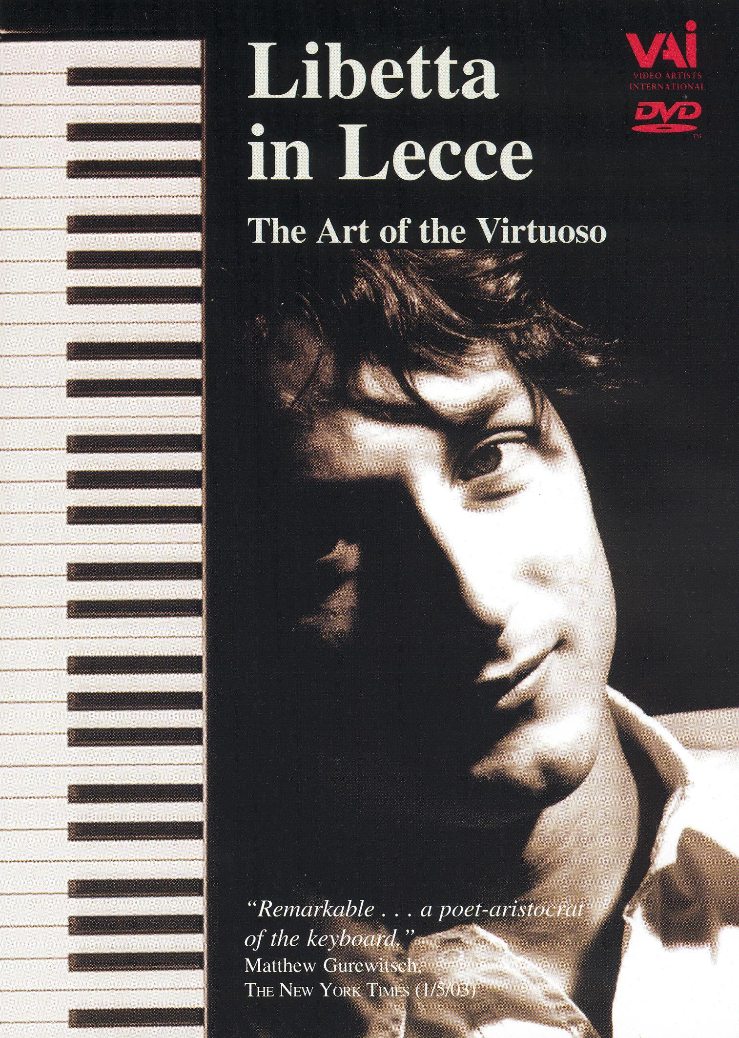 Francesco Libetta in Lecce: The Art of the Virtuoso