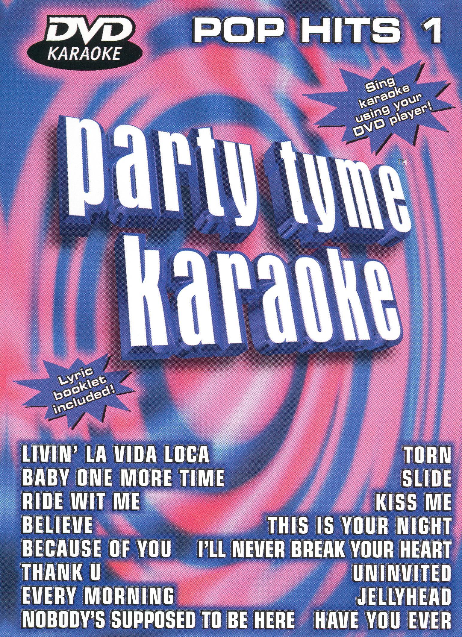 Party Tyme Karaoke: Pop Hits, Vol. 1
