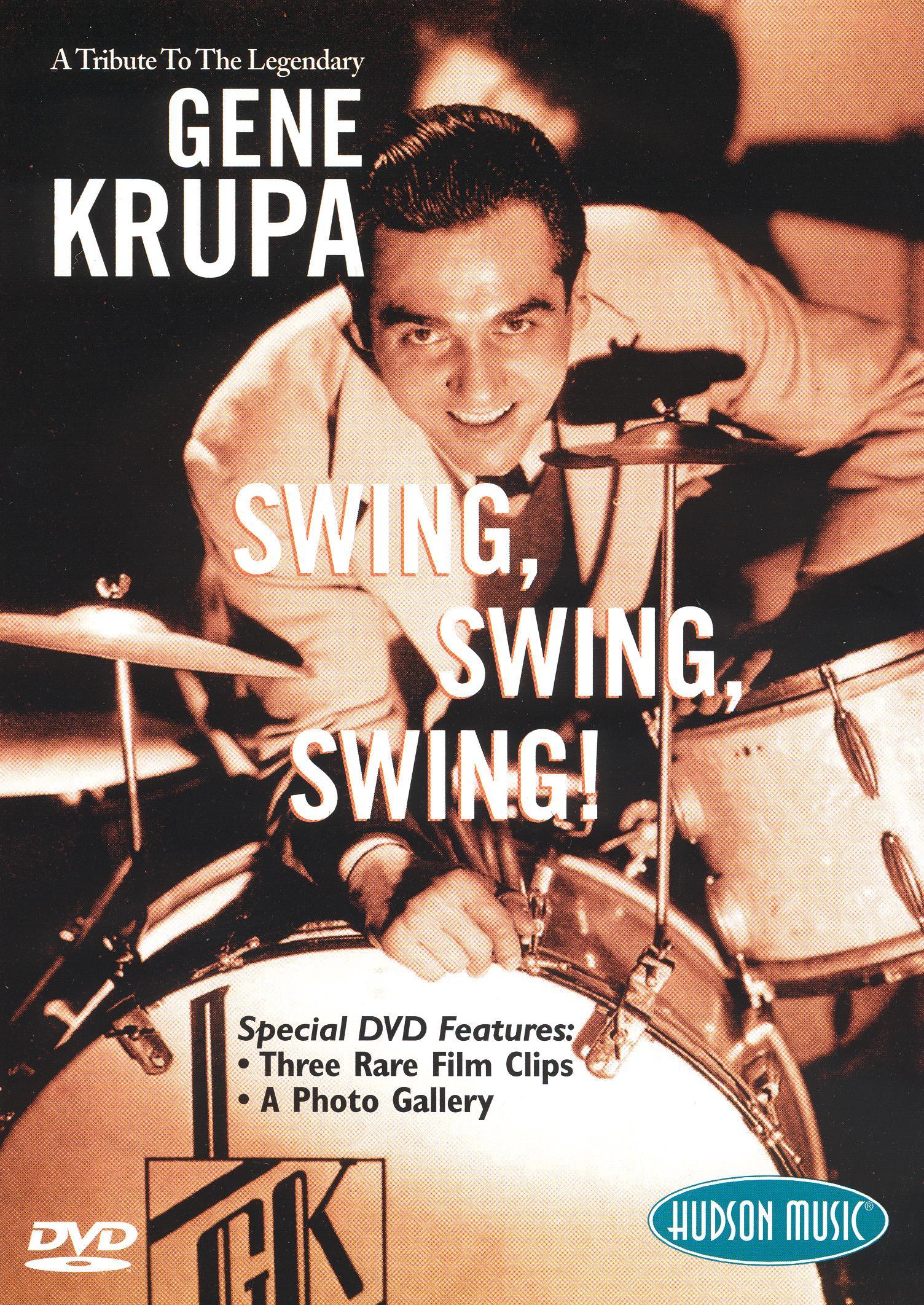 A Tribute to the Legendary Gene Krupa: Swing, Swing, Swing!