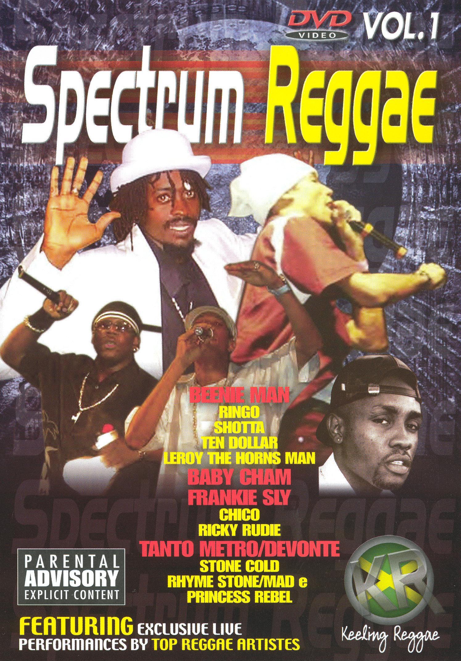 Spectrum Reggae, Vol. 1