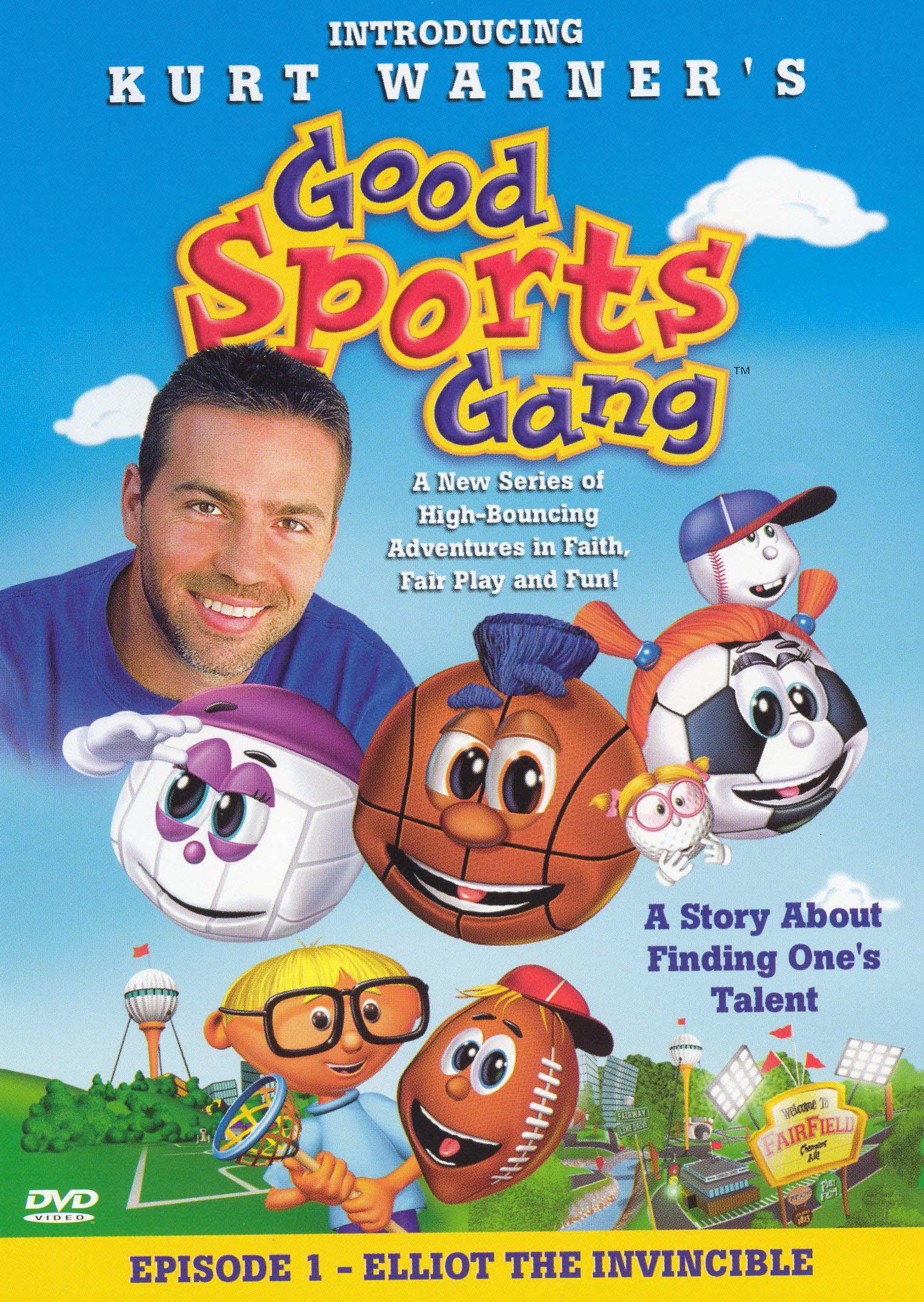 Kurt Warner's Good Sports Gang, Episode 1: Elliot the Invincible