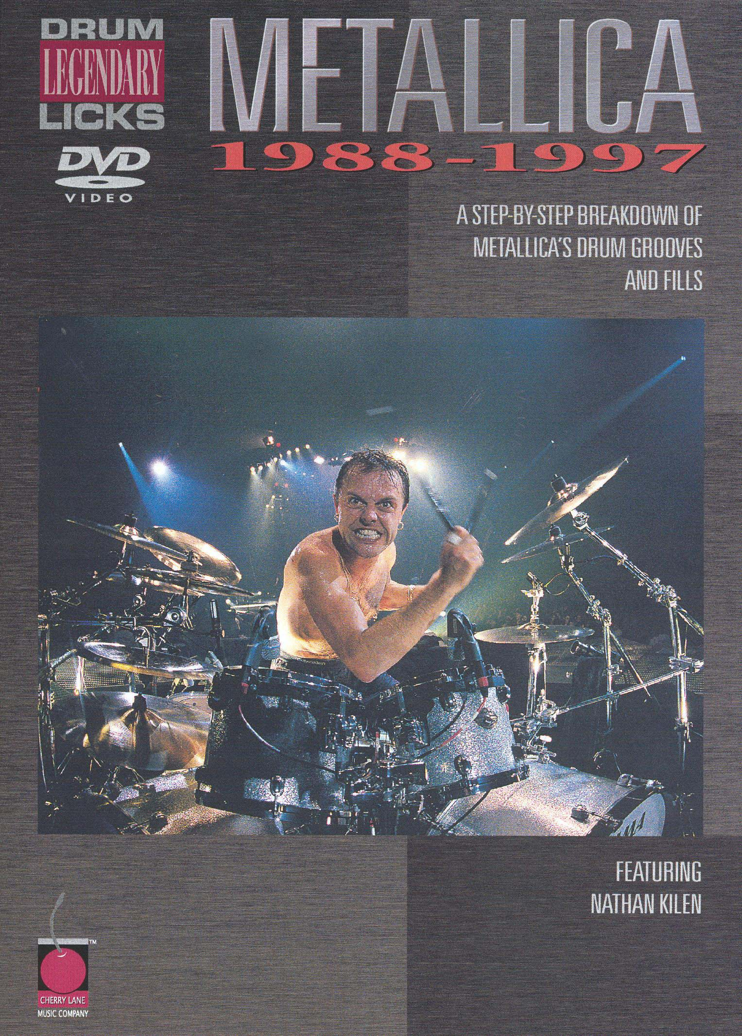 Metallica: Legendary Licks - Drum, 1988-1997