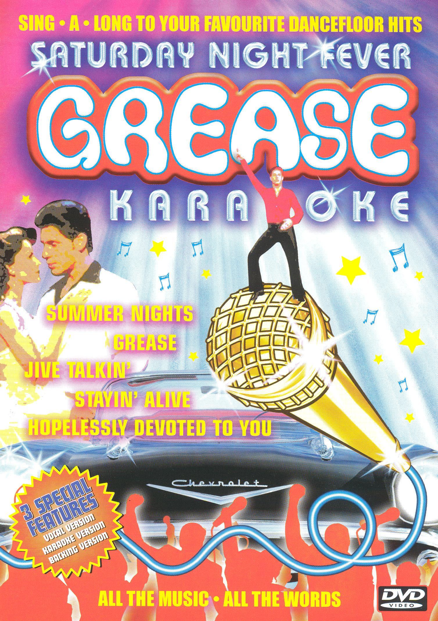 Grease/Saturday Night Fever Karaoke