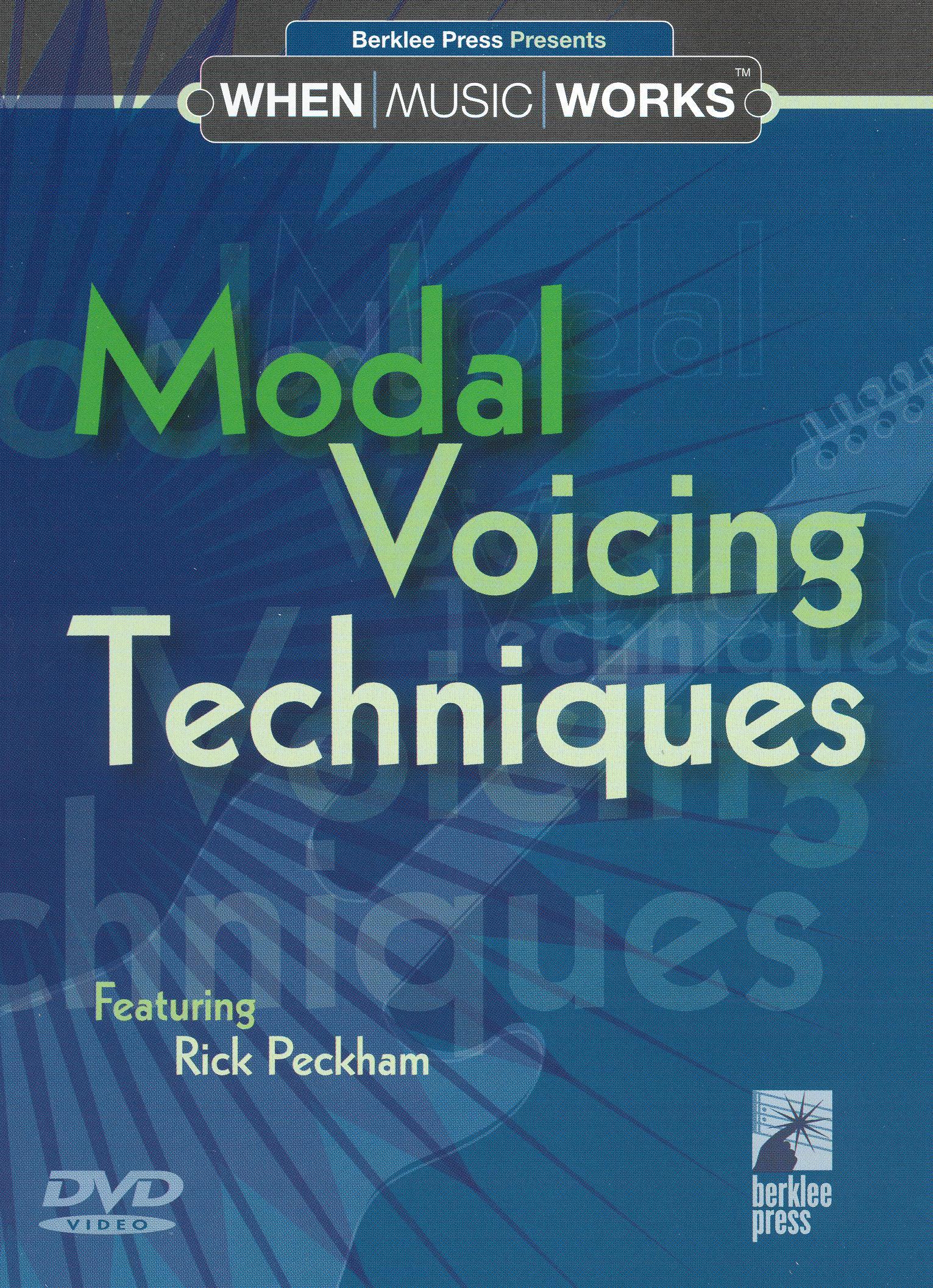 Modal Voicing Techniques
