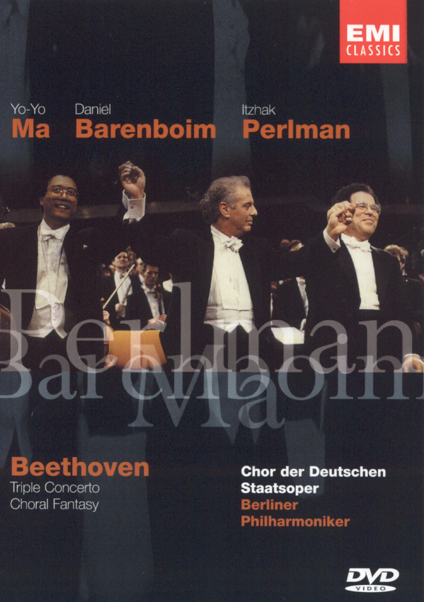 Beethoven: Triple Concerto and Choral Fantasy