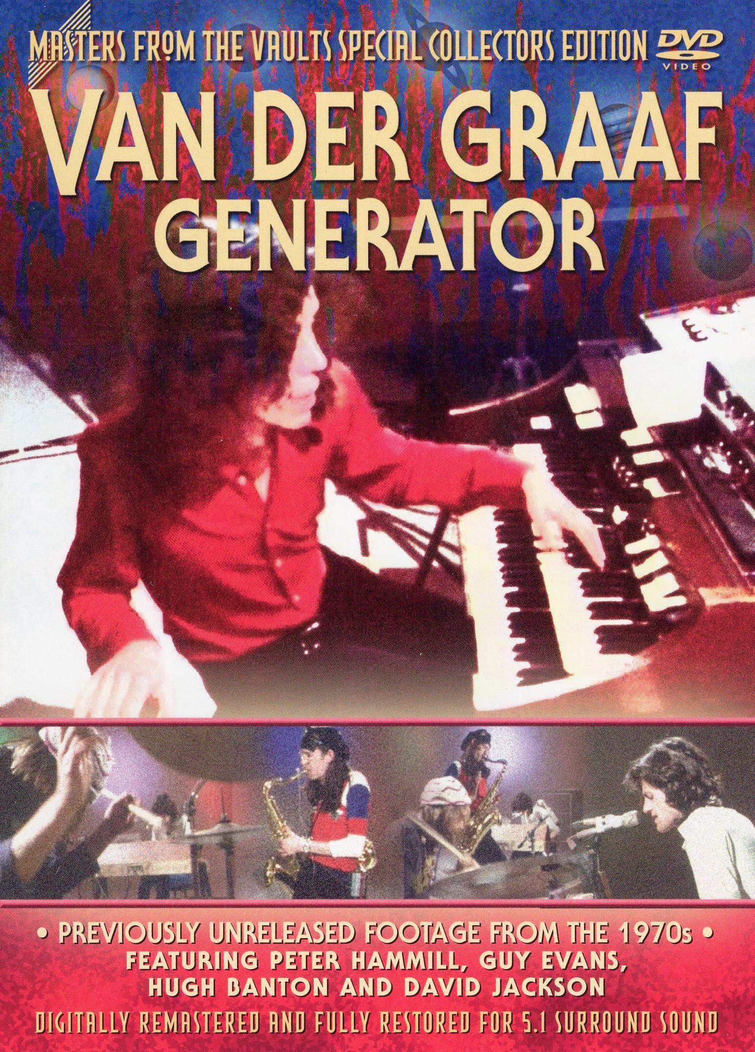 Masters From the Vaults: Van Der Graaf Generator