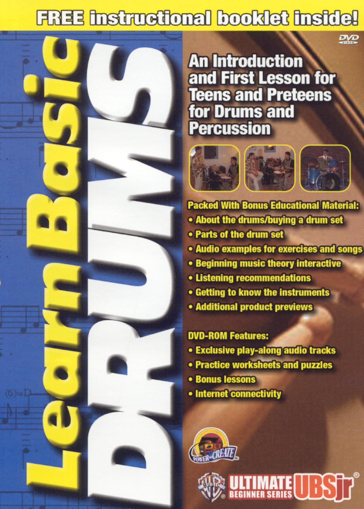 Ultimate Beginner Jr.: Learn Basic Drums