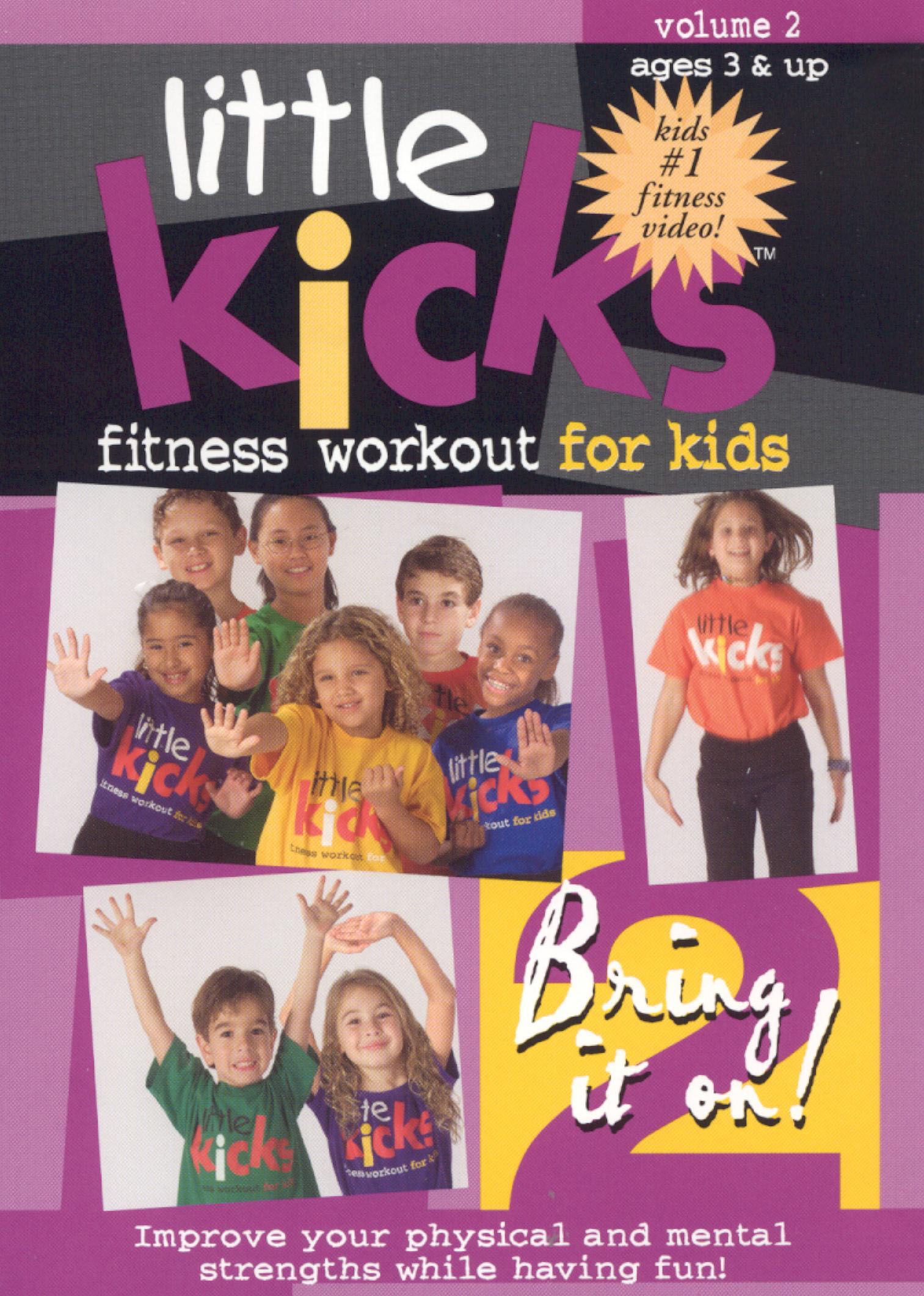 Little Kicks: Fitness Workout for Kids, Vol. 2 - Bring It On!