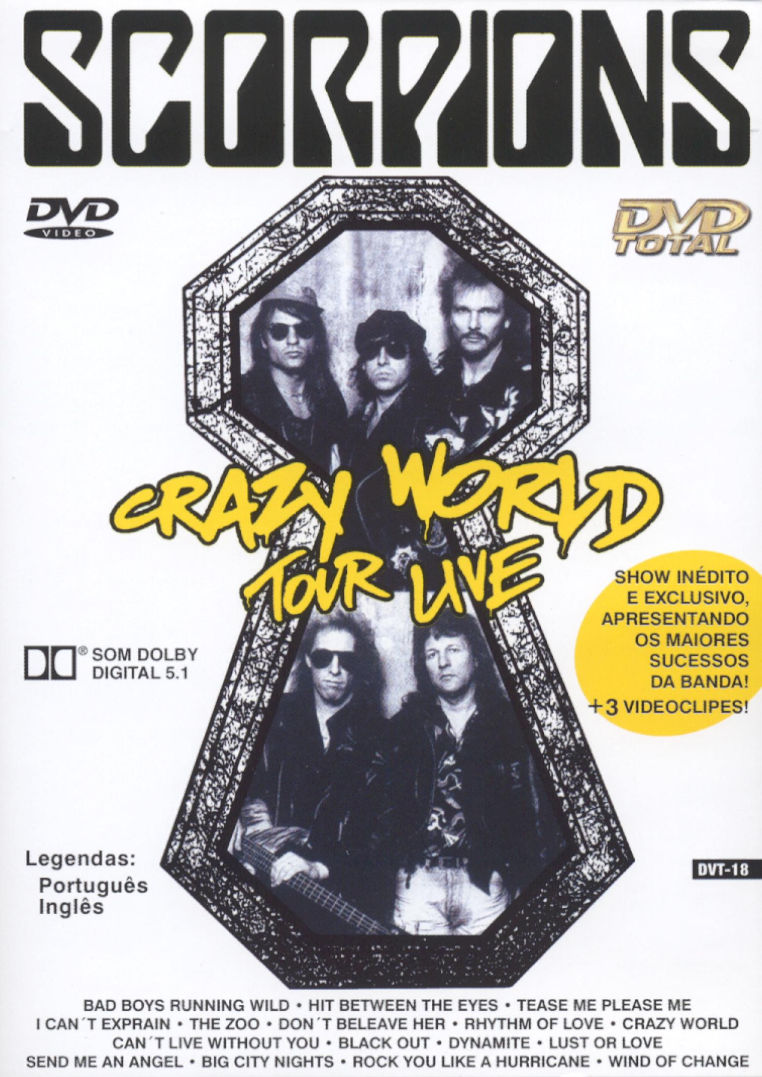 Scorpions: Crazy World Tour Live - Berlin 1991