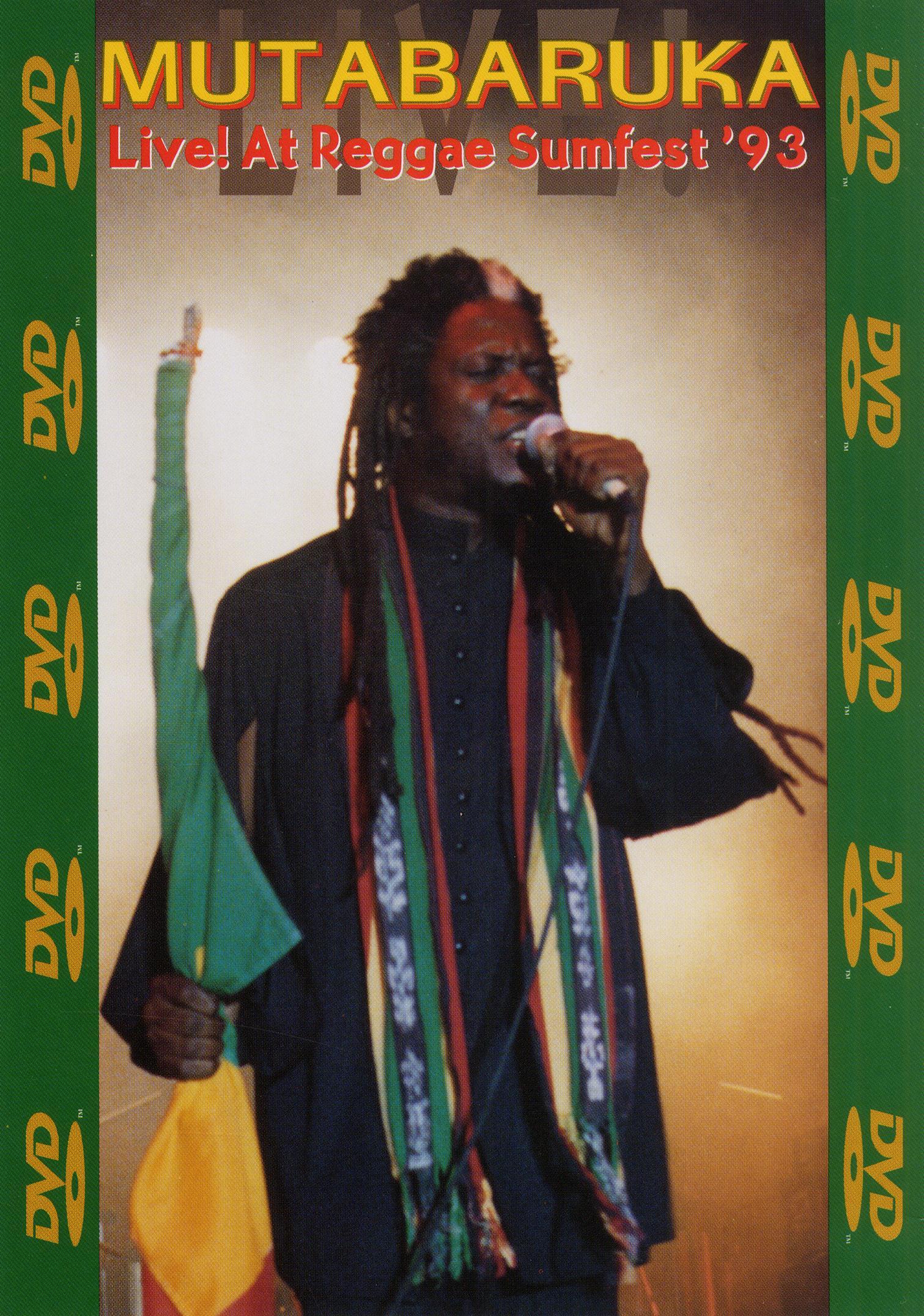 Mutabaruka: Live! At Reggae Sumfest '93