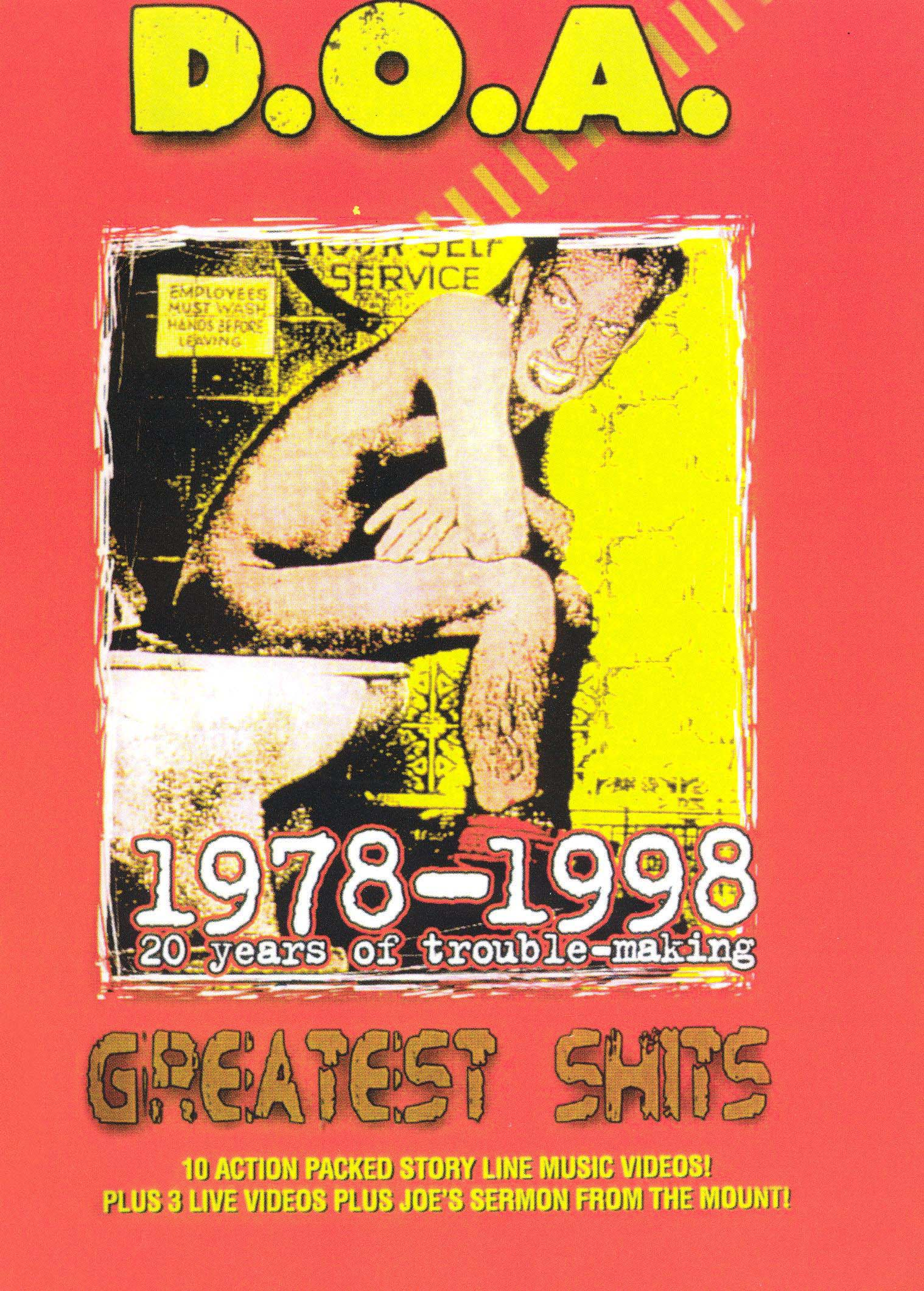 D.O.A.: Greatest Shits 1978-1998