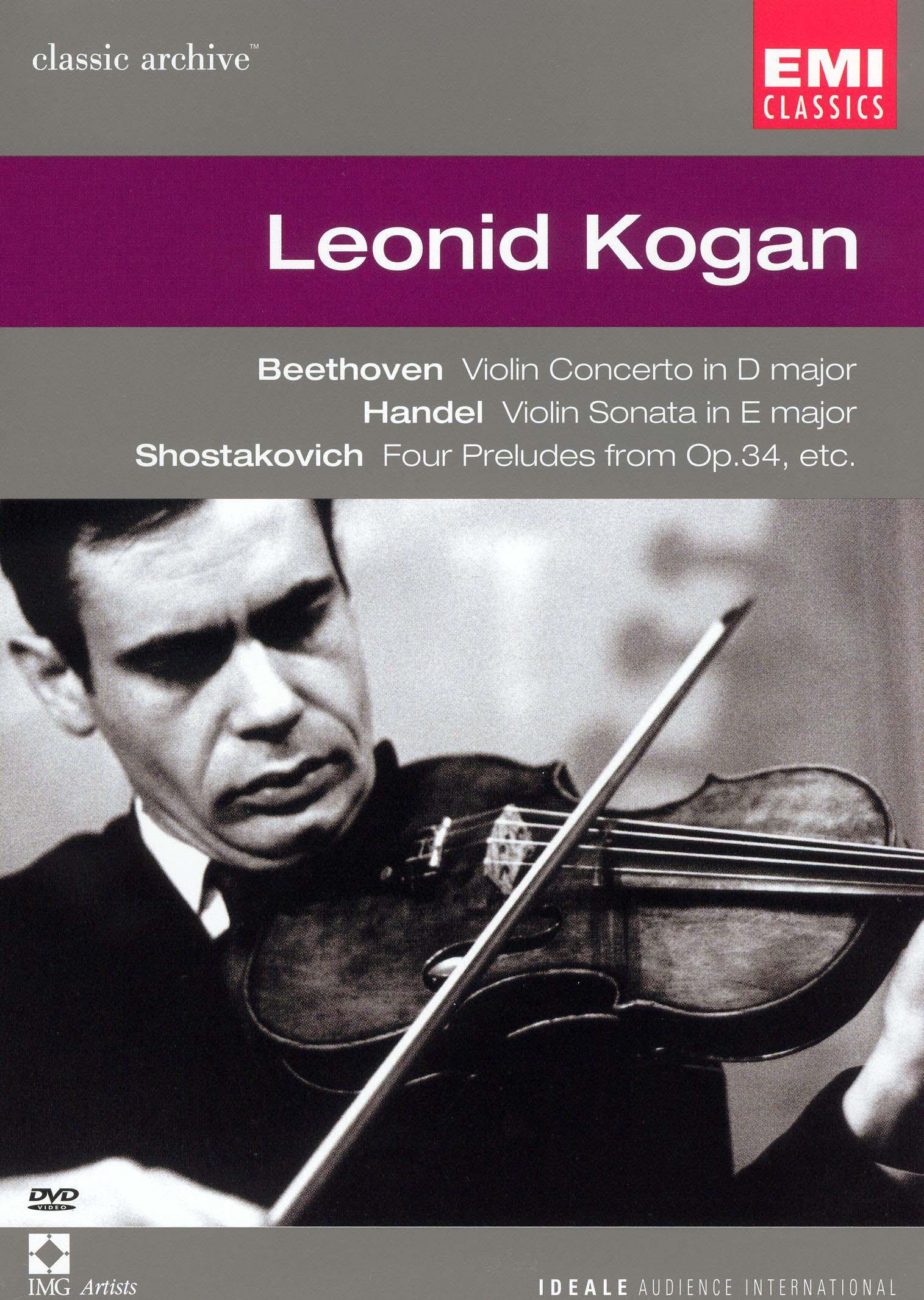 Classic Archive: Leonid Kogan - Beethoven