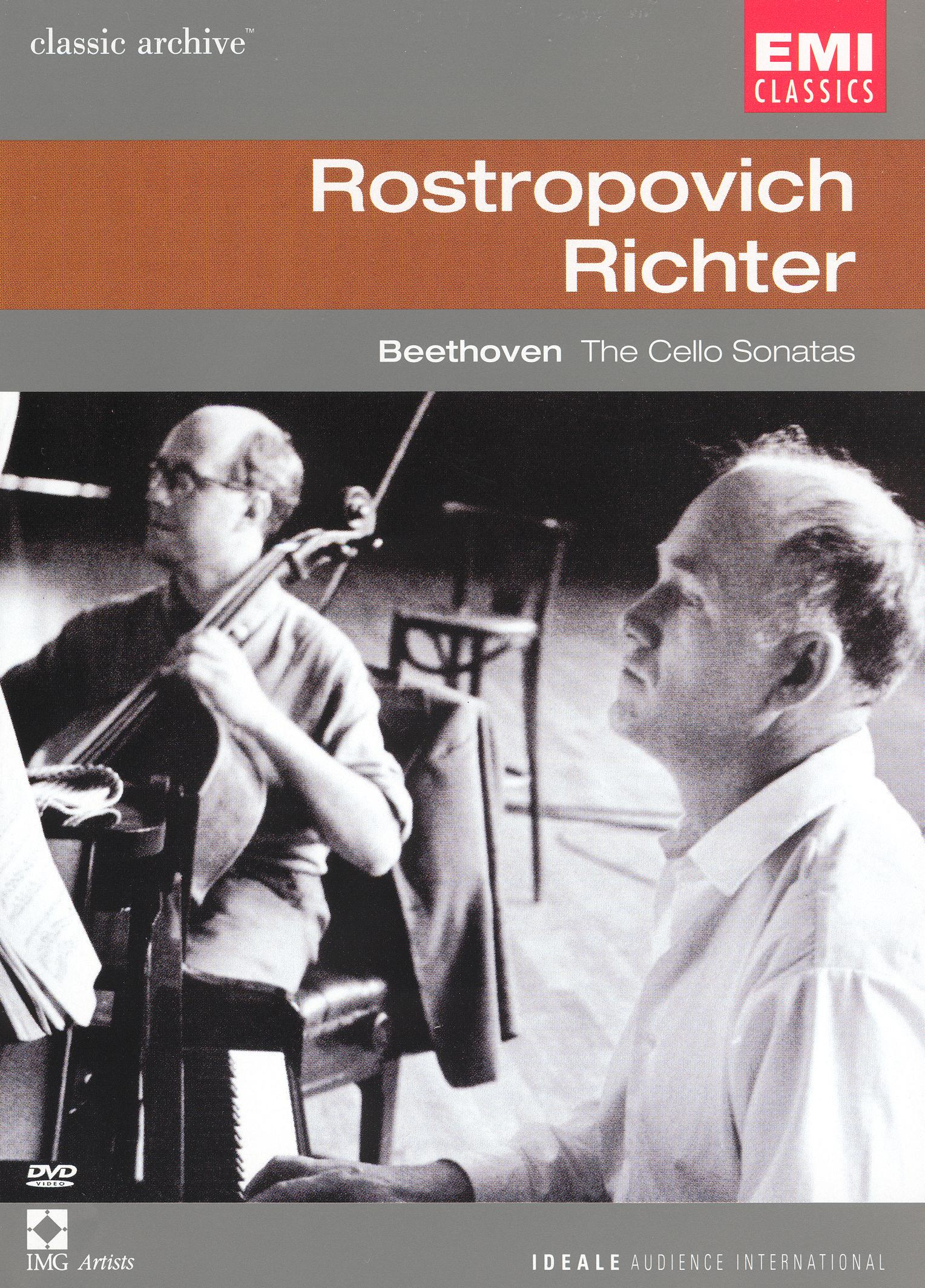 Rostropovich/Richter: Beethoven - The Cello Sonatas