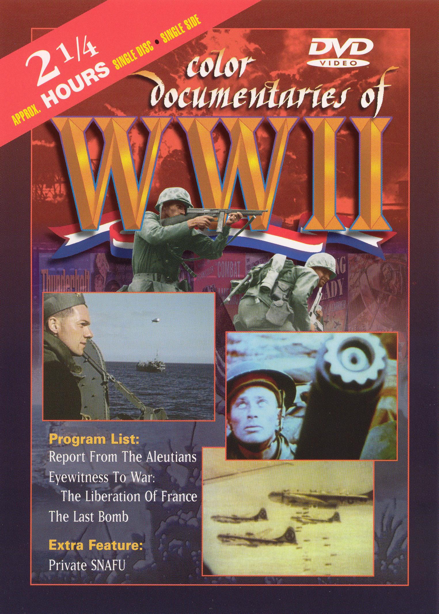 Color Documentaries of WWII - Eyewitness to War