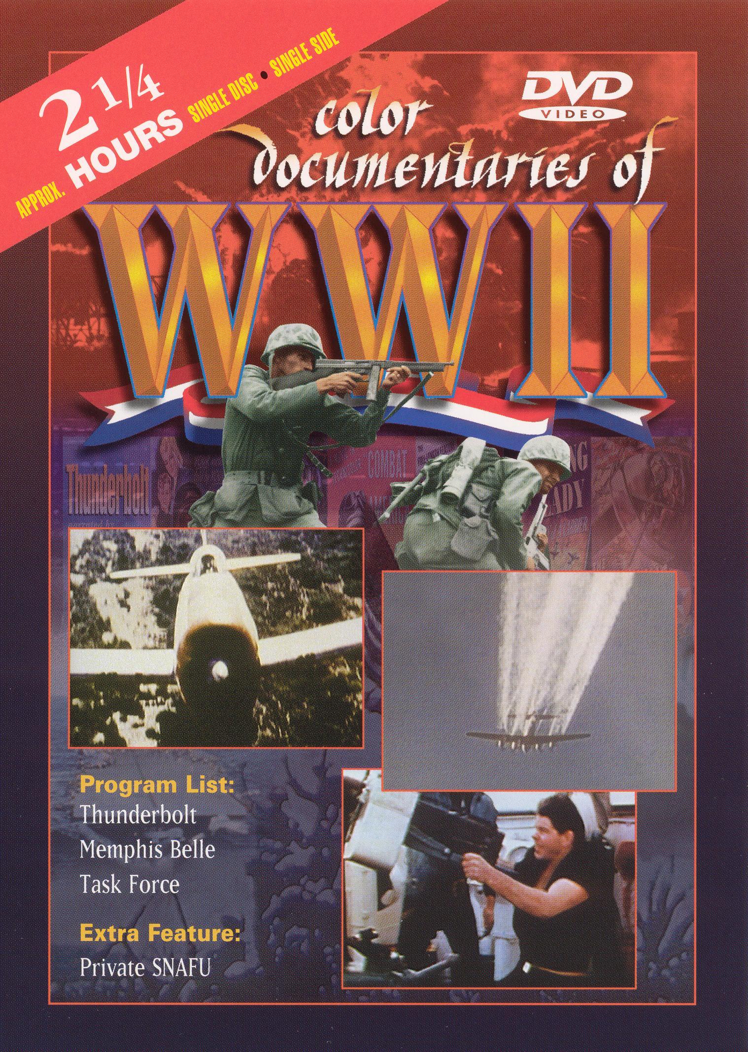 Color Documentaries of WWII - European Combat