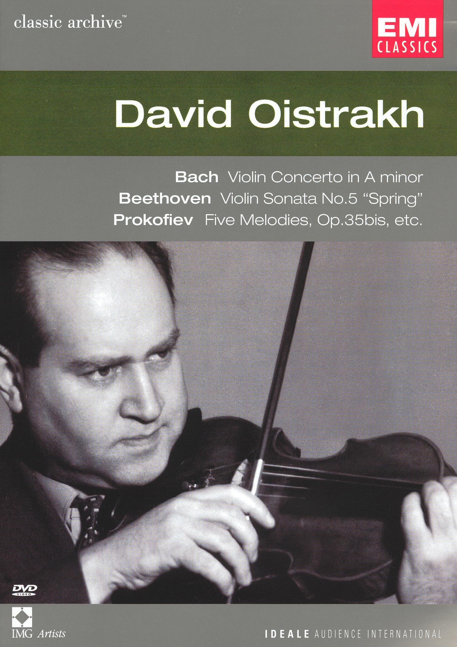 Classic Archive: David Oistrakh