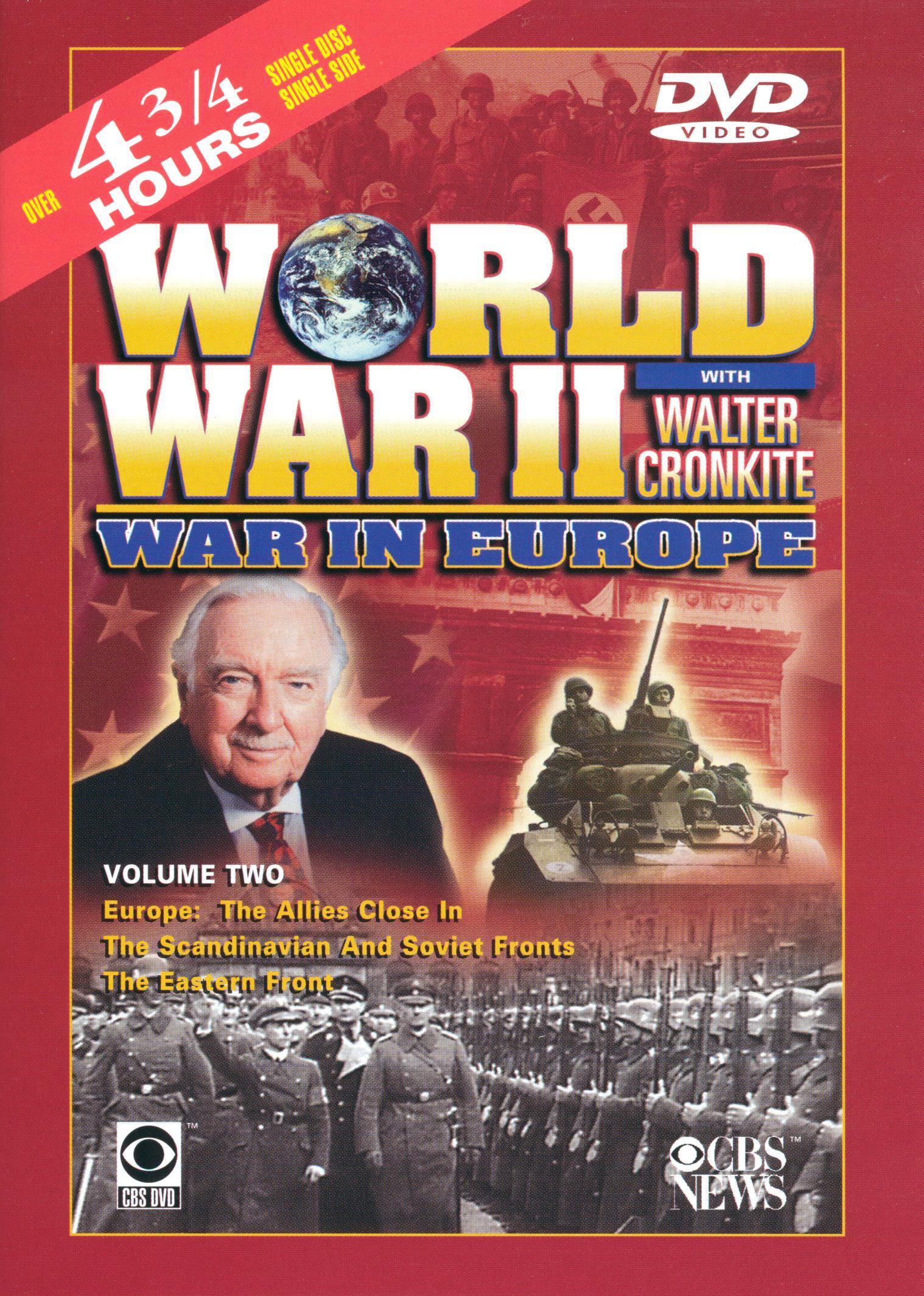 World War II With Walter Cronkite: War in Europe, Vol. 2