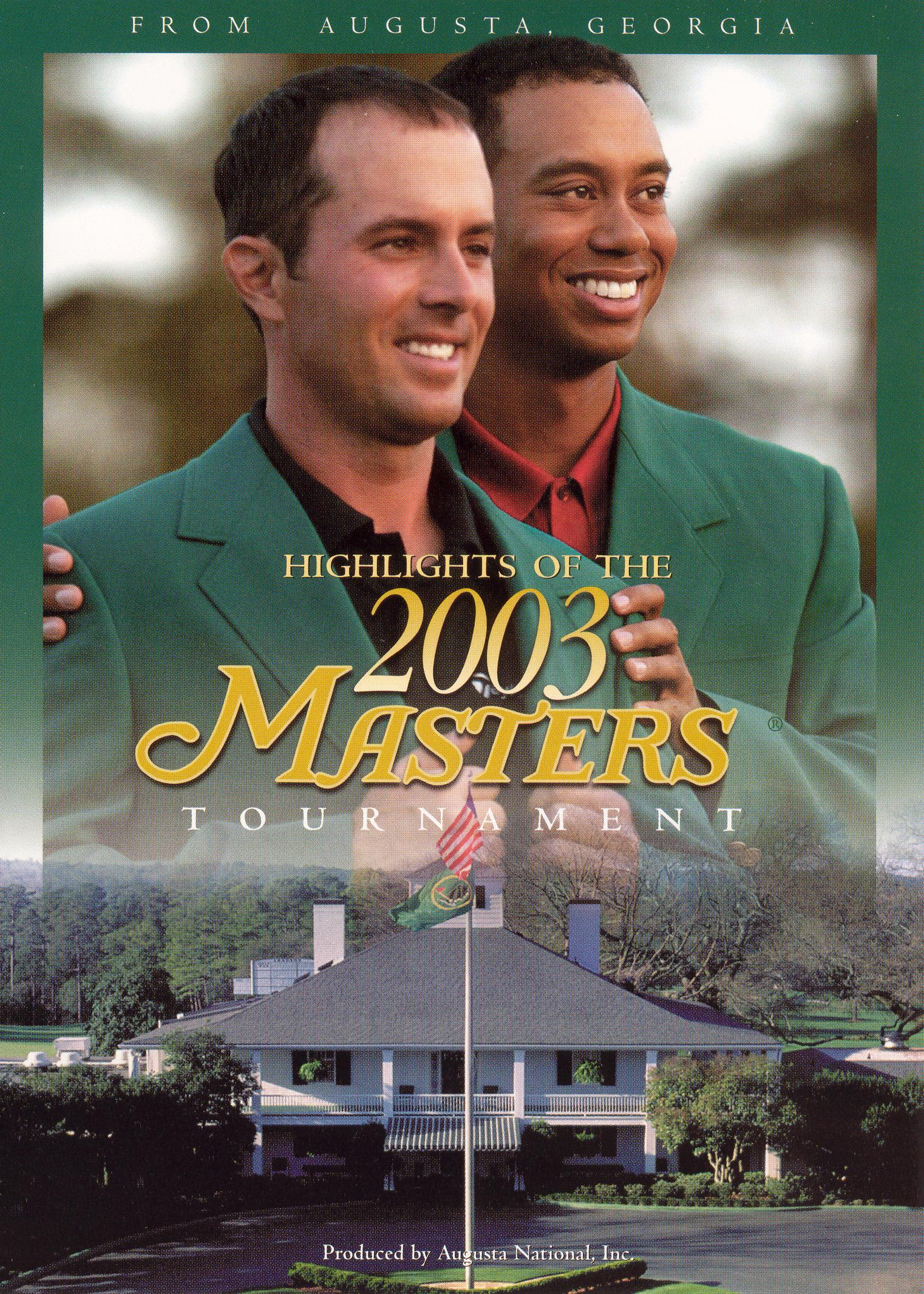 PGA: Highlights of the 2003 Masters Tournament