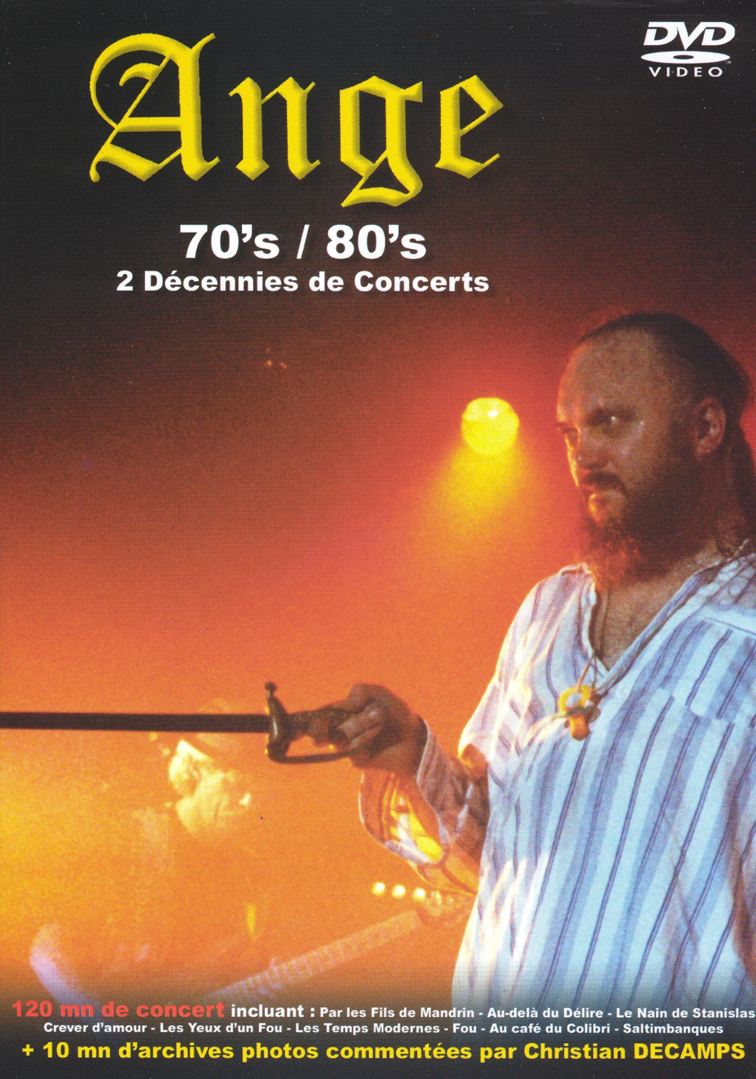 Ange: '70s/'80s - 2 Decennies de Concerts